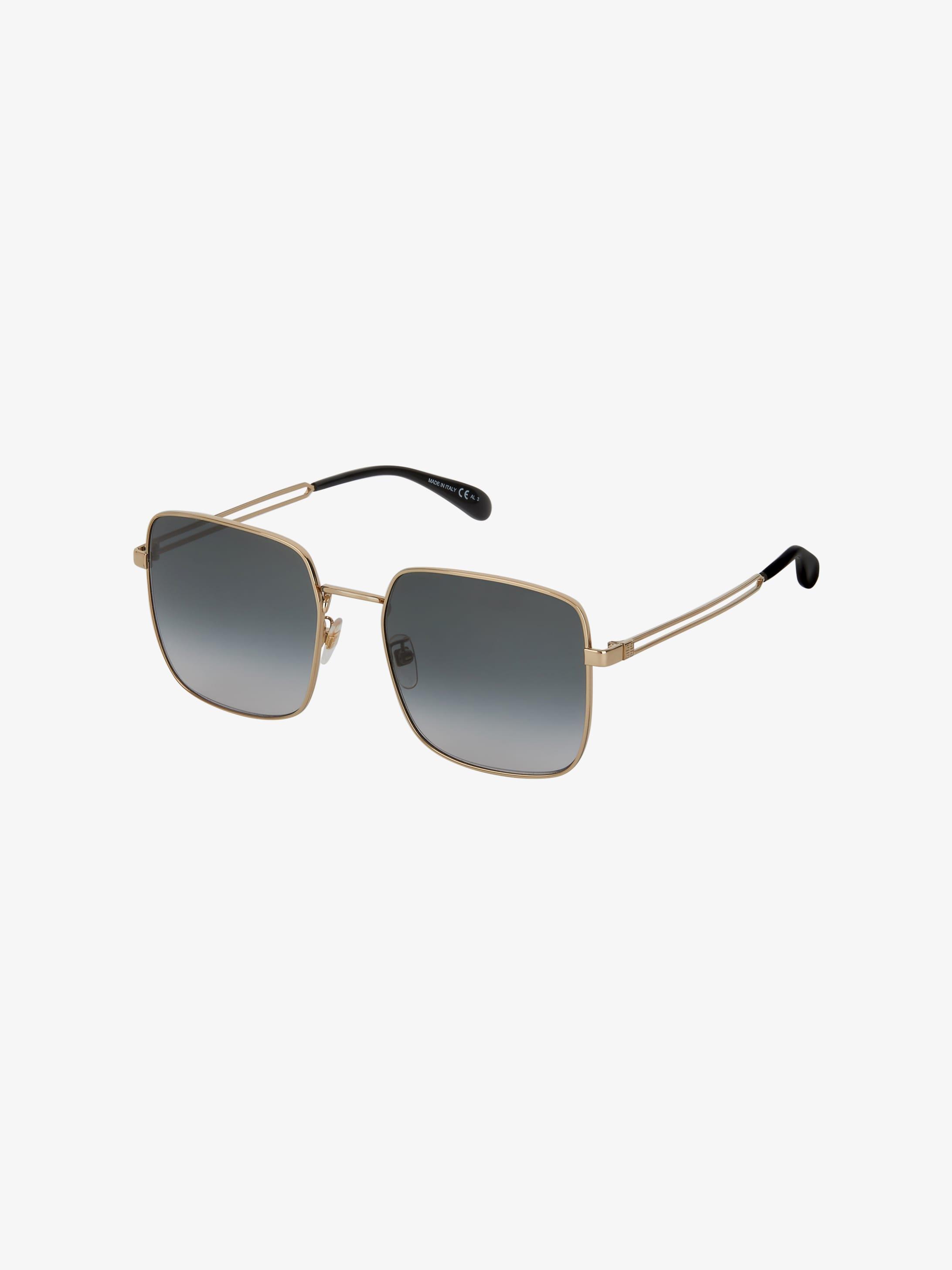 GV Double Wire sunglasses in metal