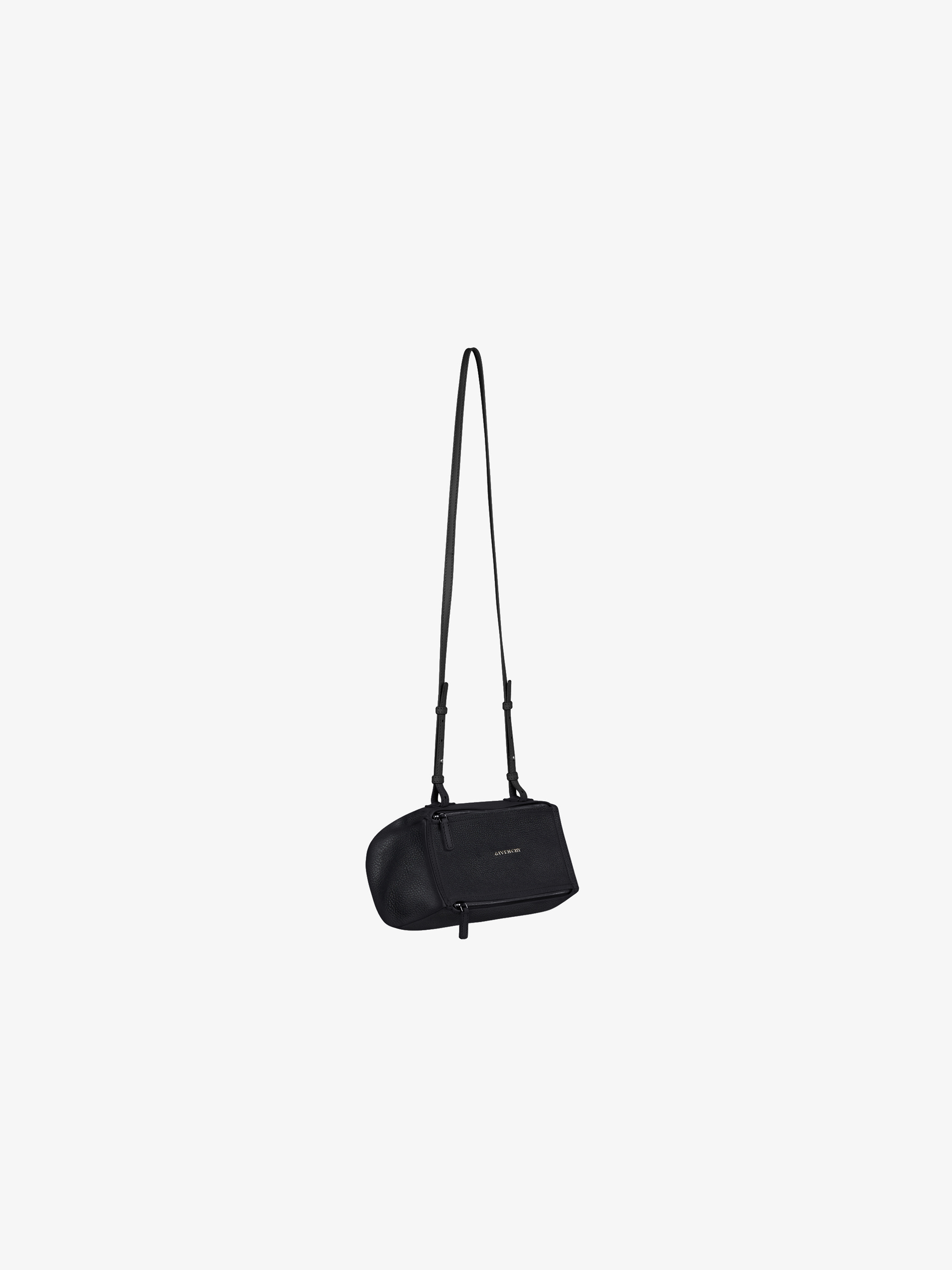 Mini Pandore bag in grained leather