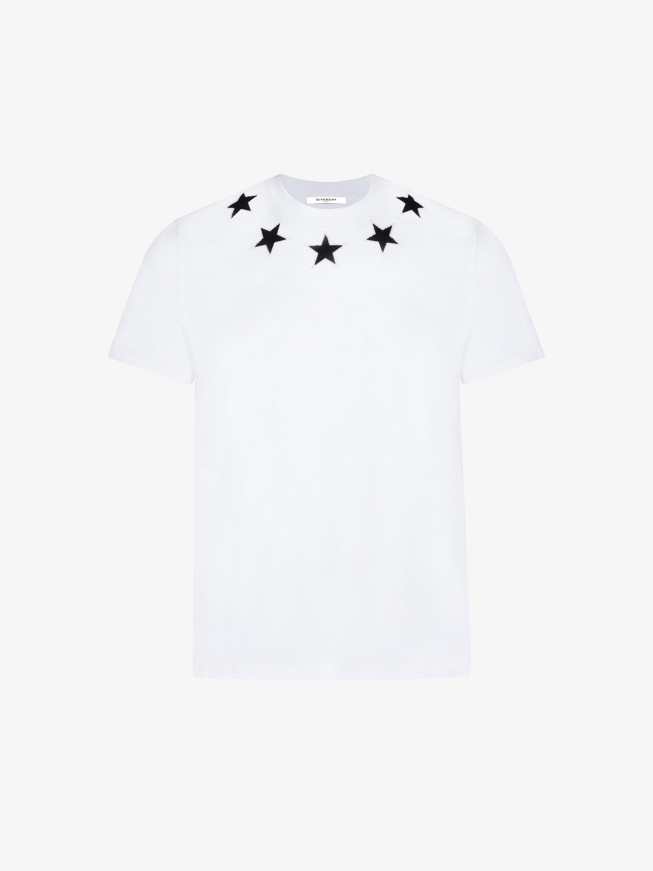 T-shirt broderies étoiles   GIVENCHY Paris 25e28287275