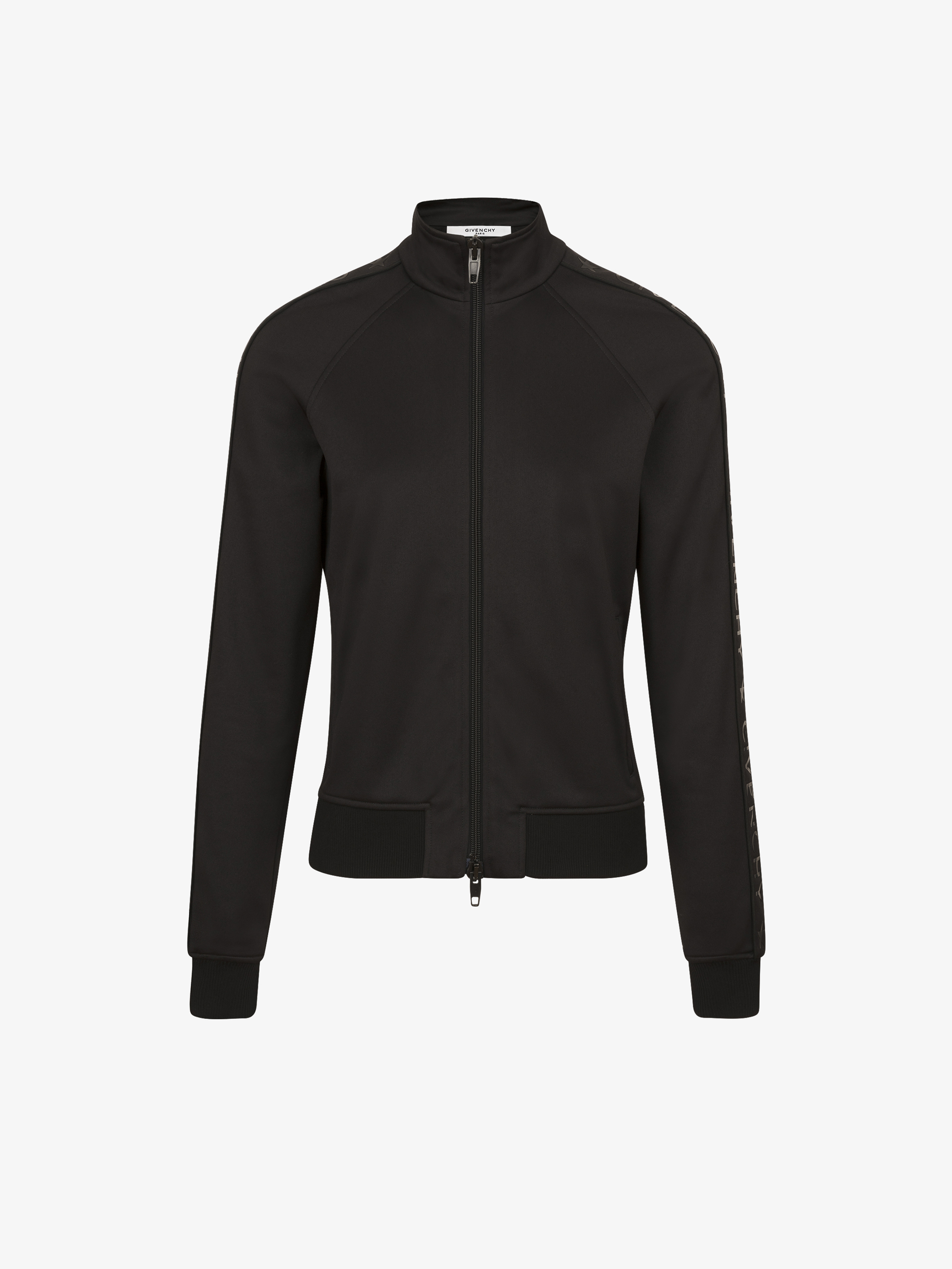 GIVENCHY webbing zipped jacket