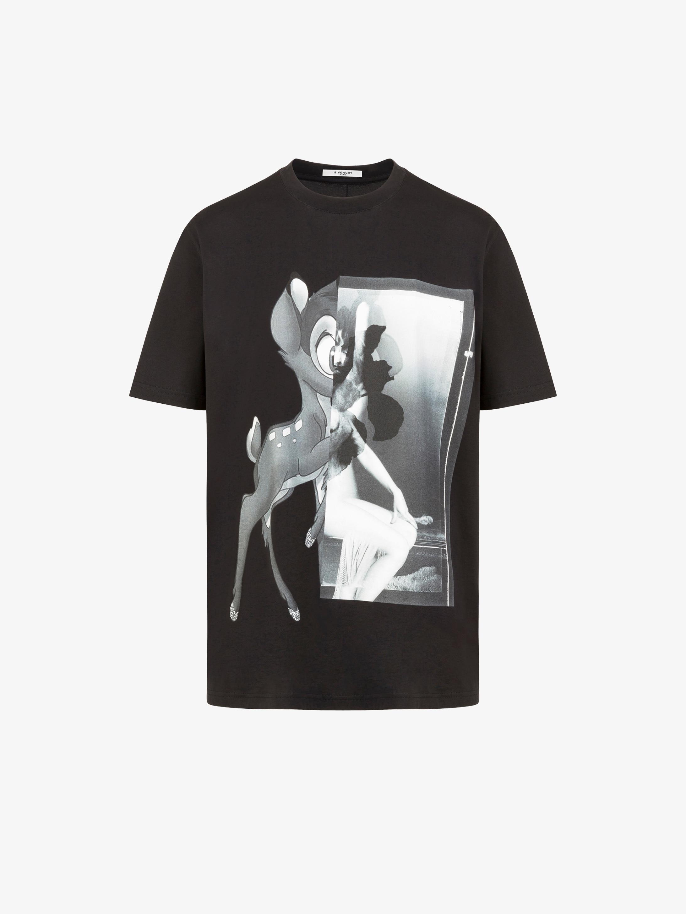Givenchy Bambi Printed T Shirt Givenchy Paris