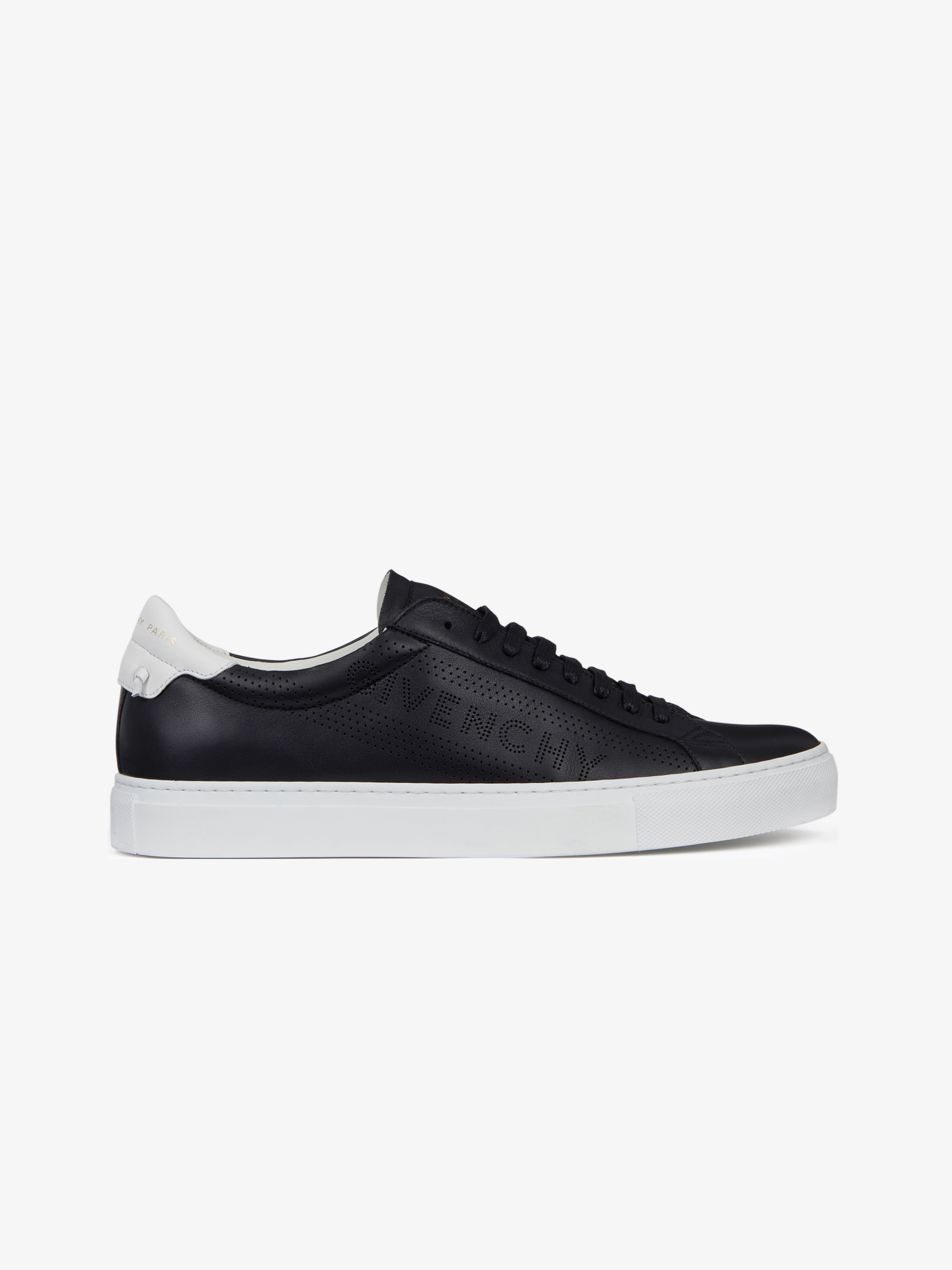 GIVENCHY perforated low sneakers in leather