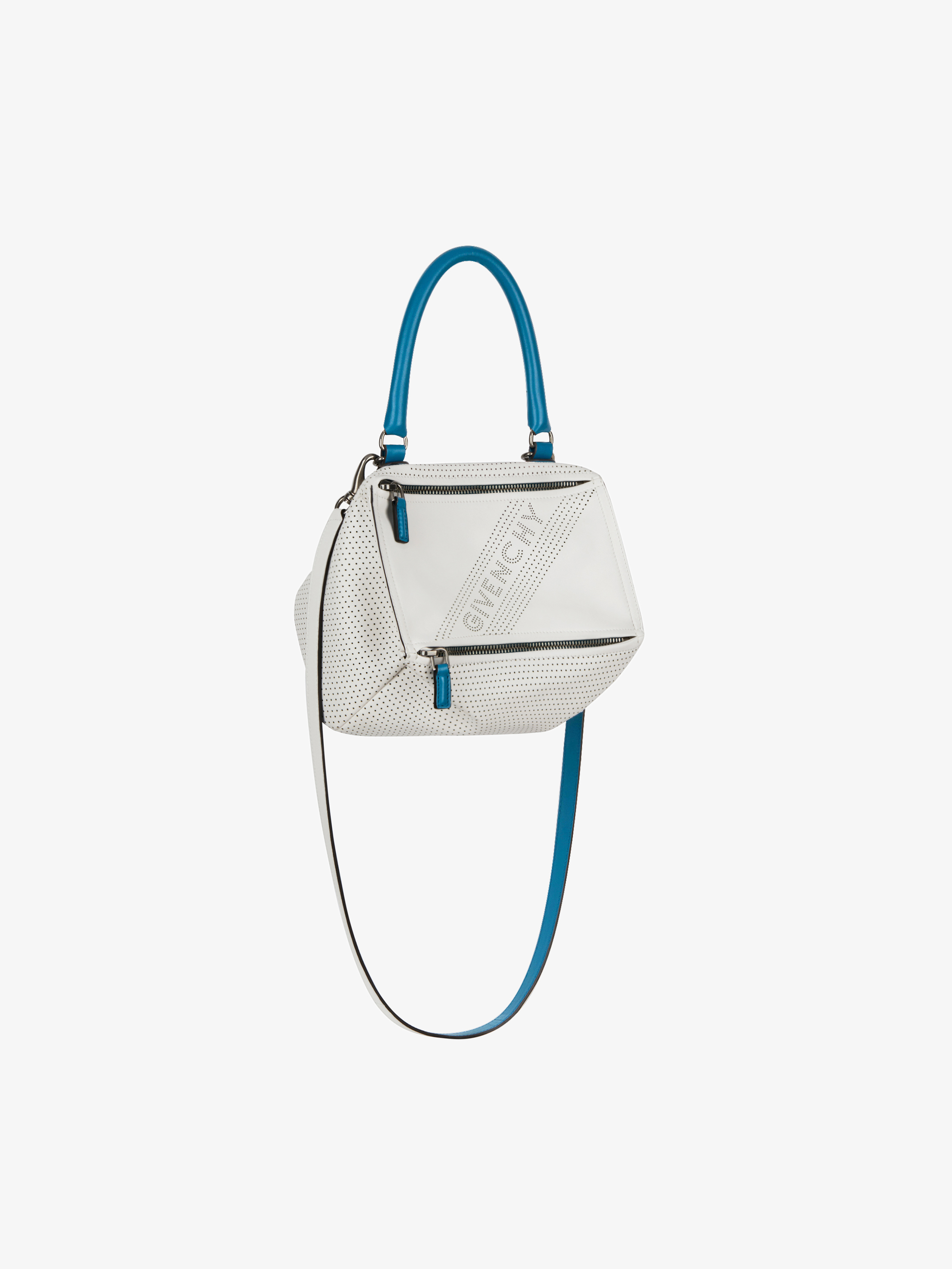 GIVENCHY perforated small Pandora bag in leather  dcd60f11c3ad2