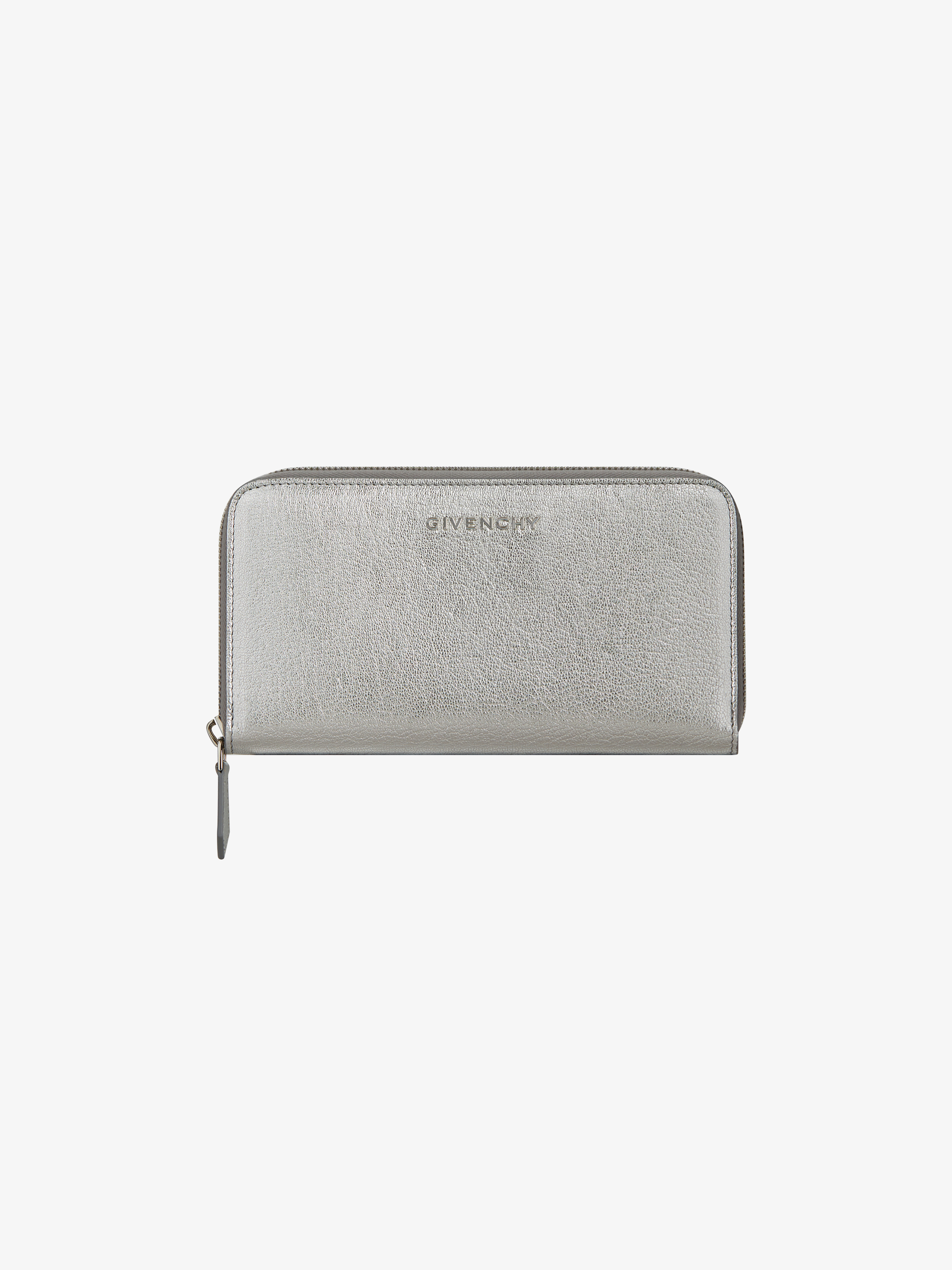 Pandora long zipped wallet in leather