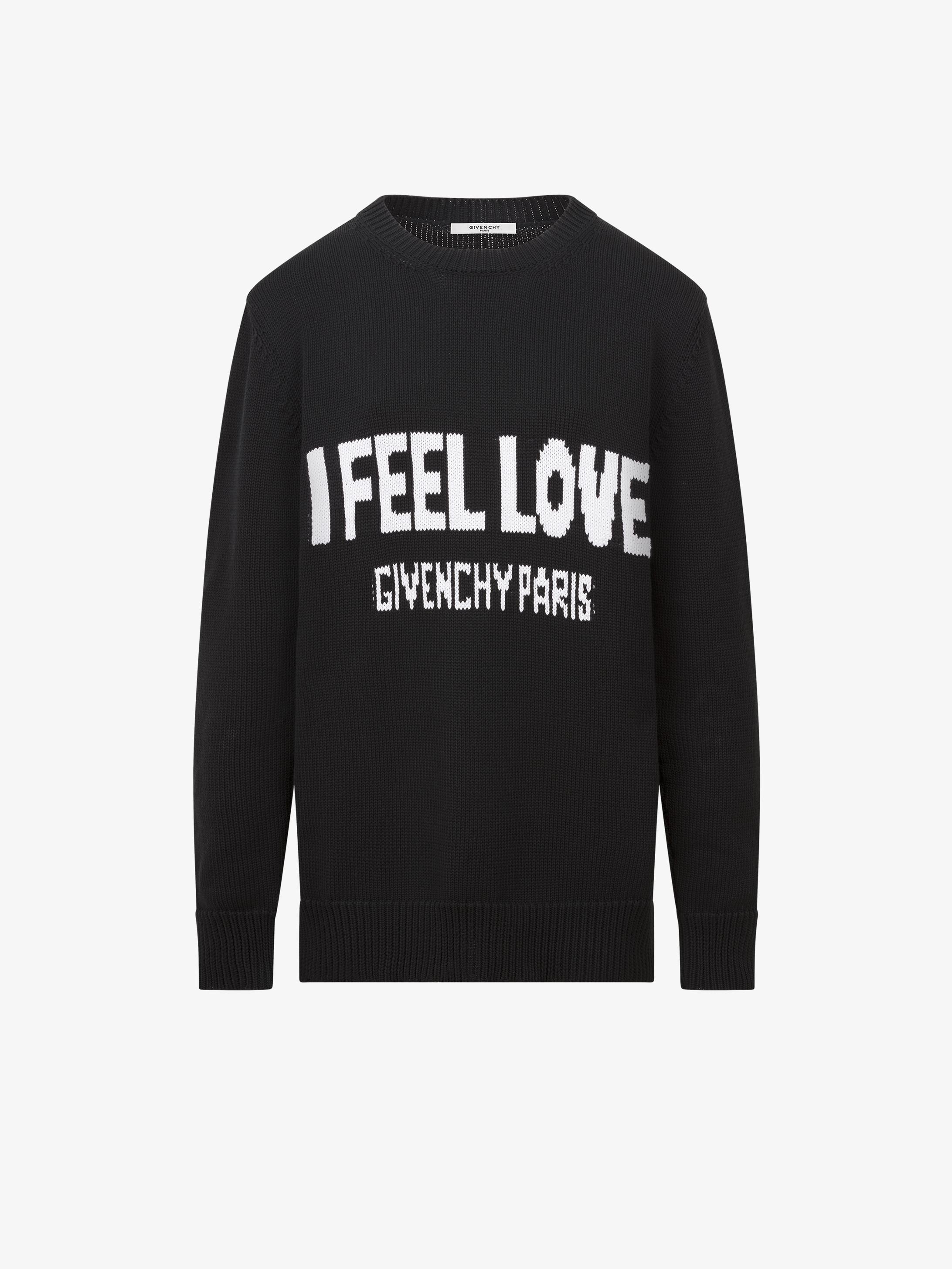 I FEEL LOVE羊毛毛衣