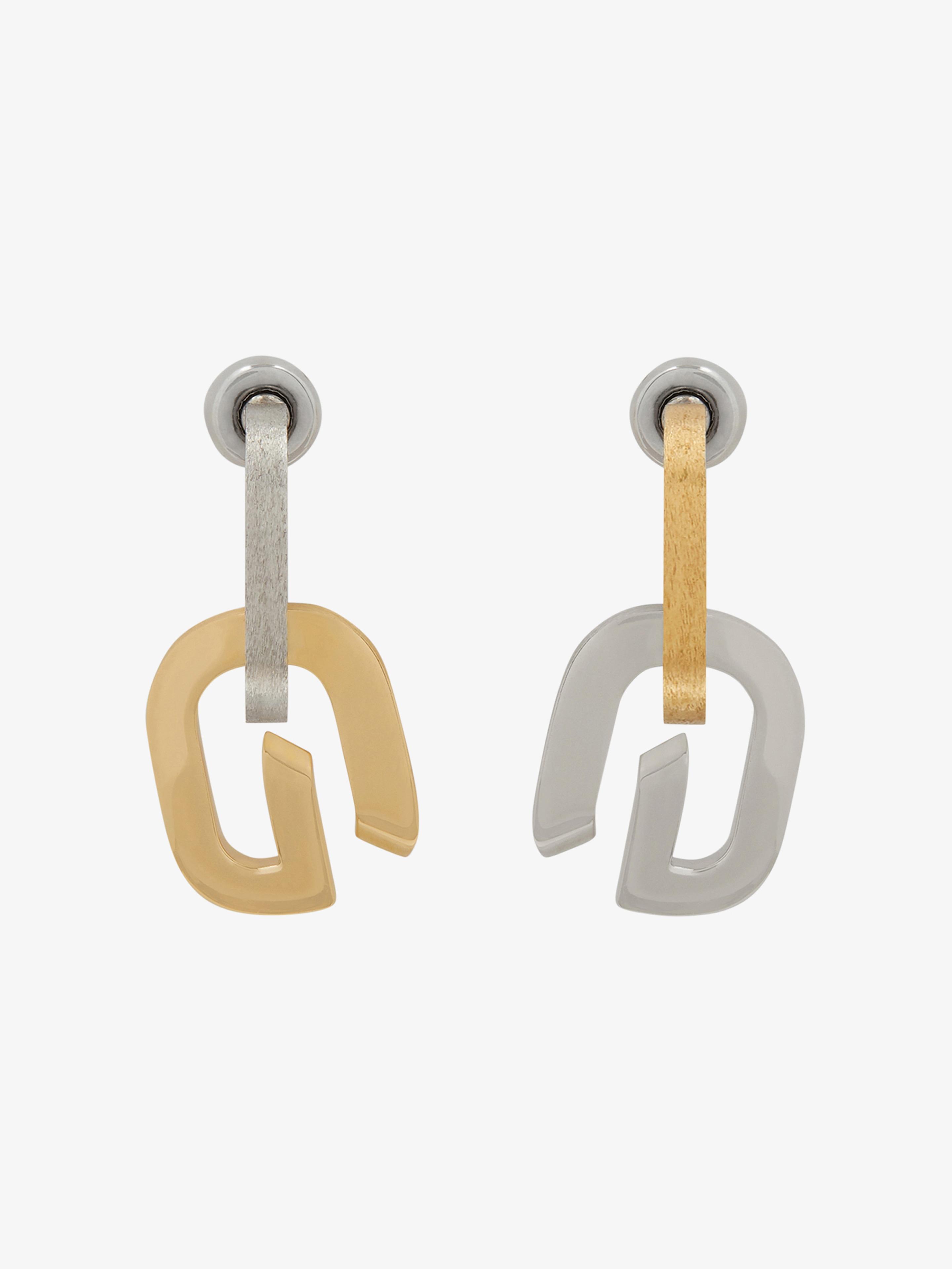 G Link earrings