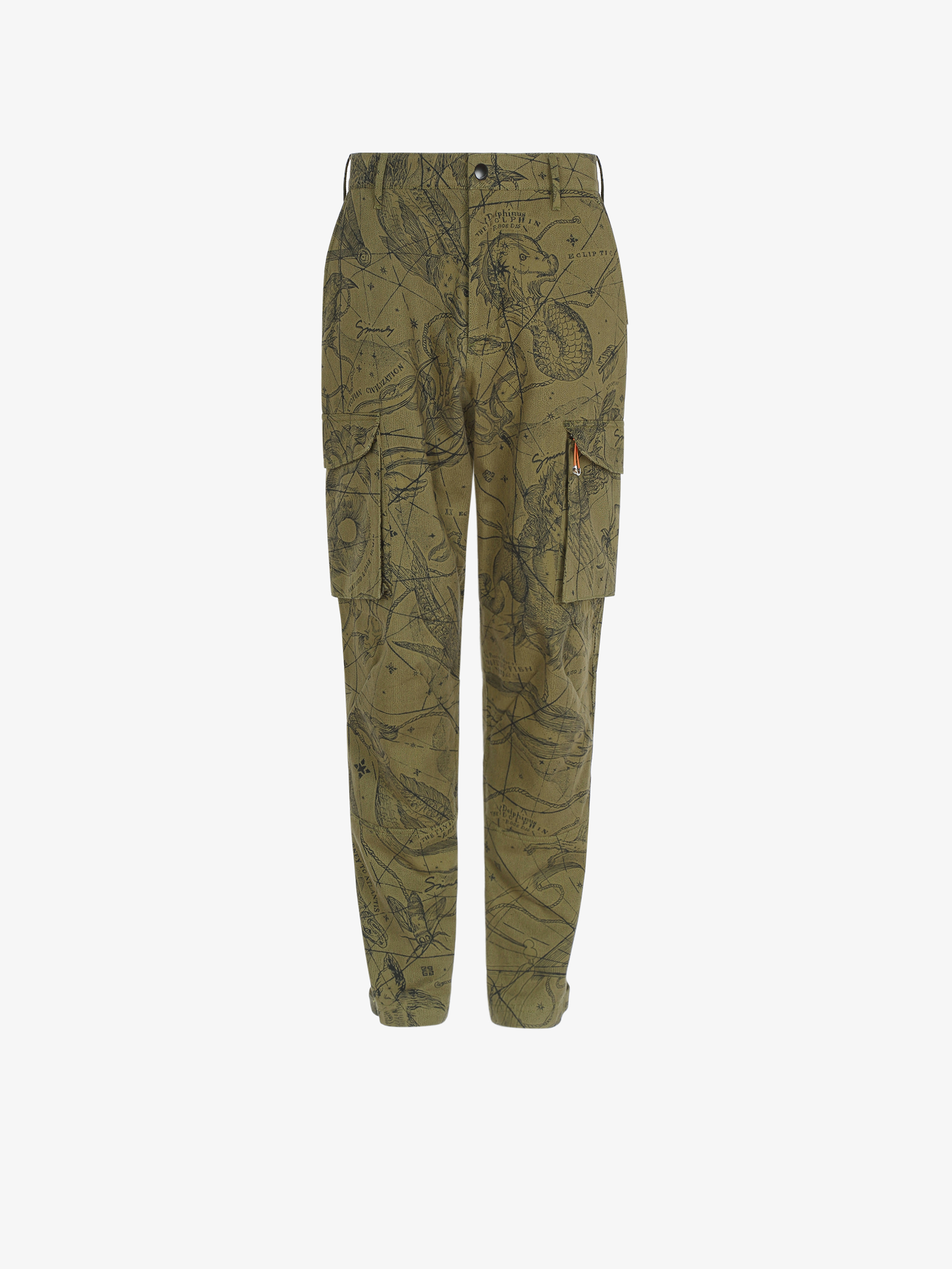 Astral printed multipockets cargo pants