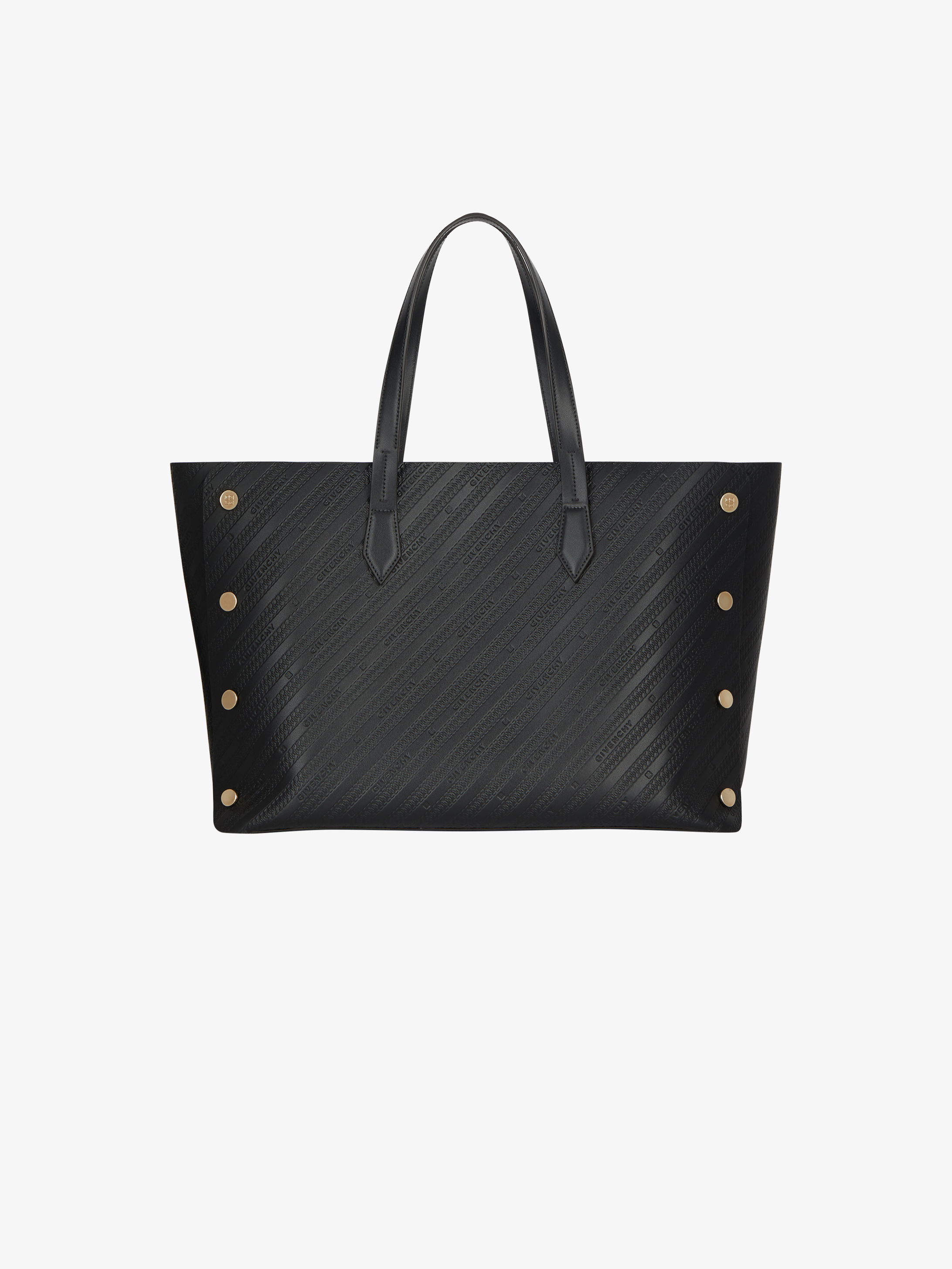 Medium Bond shopper in GIVENCHY chain embossed leather