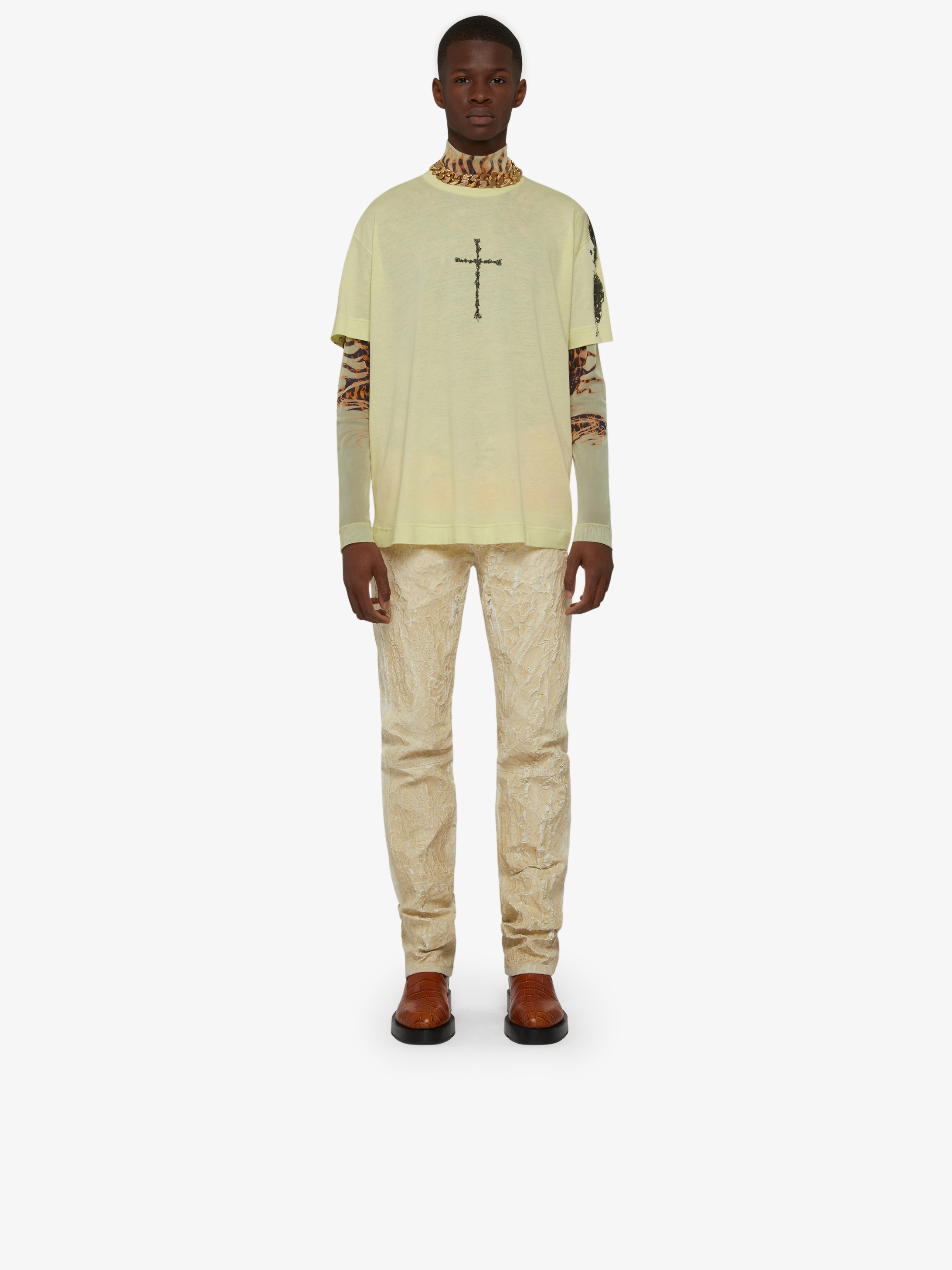 T-shirt oversize con stampa GIVENCHY