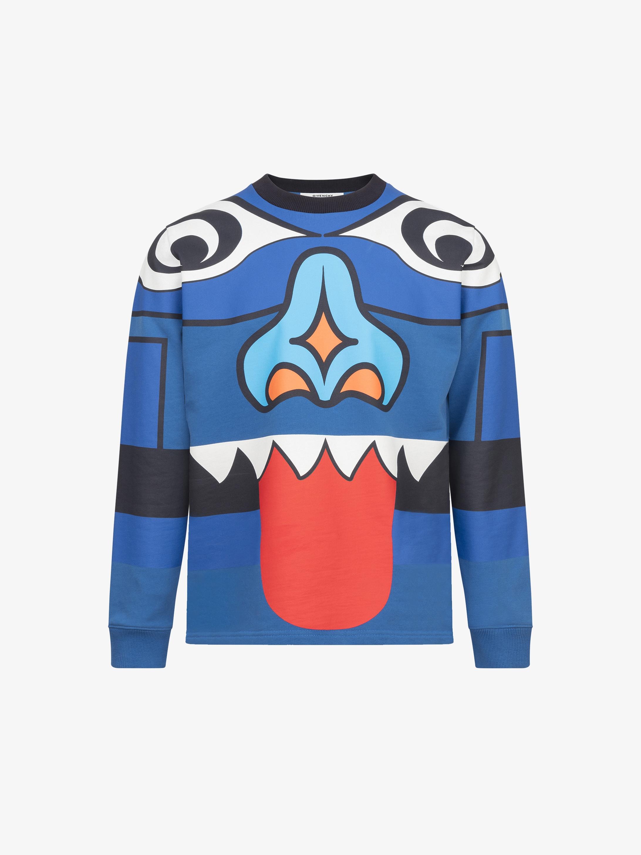 Totem printed sweatshirt