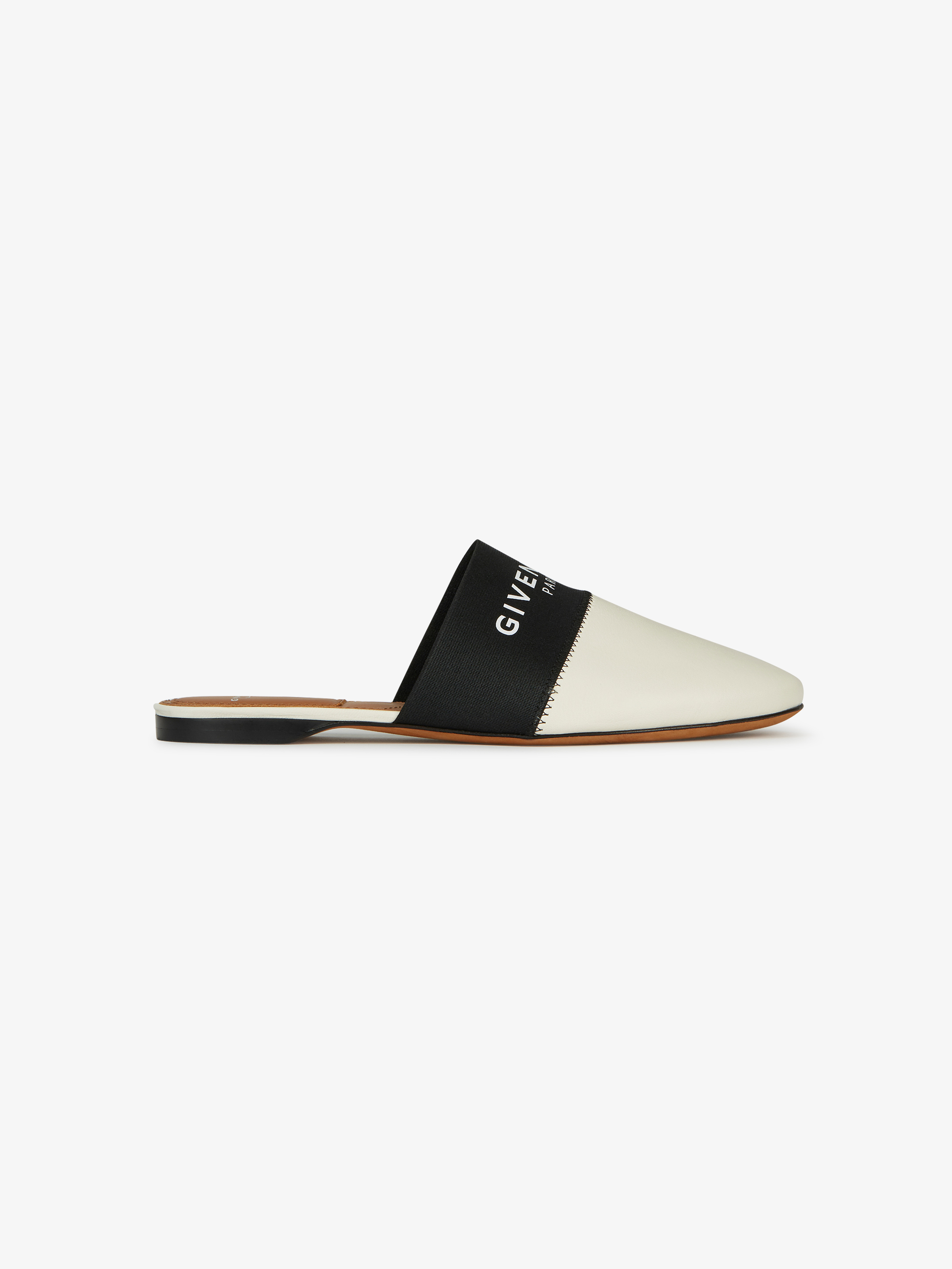 GIVENCHY PARIS leather mules