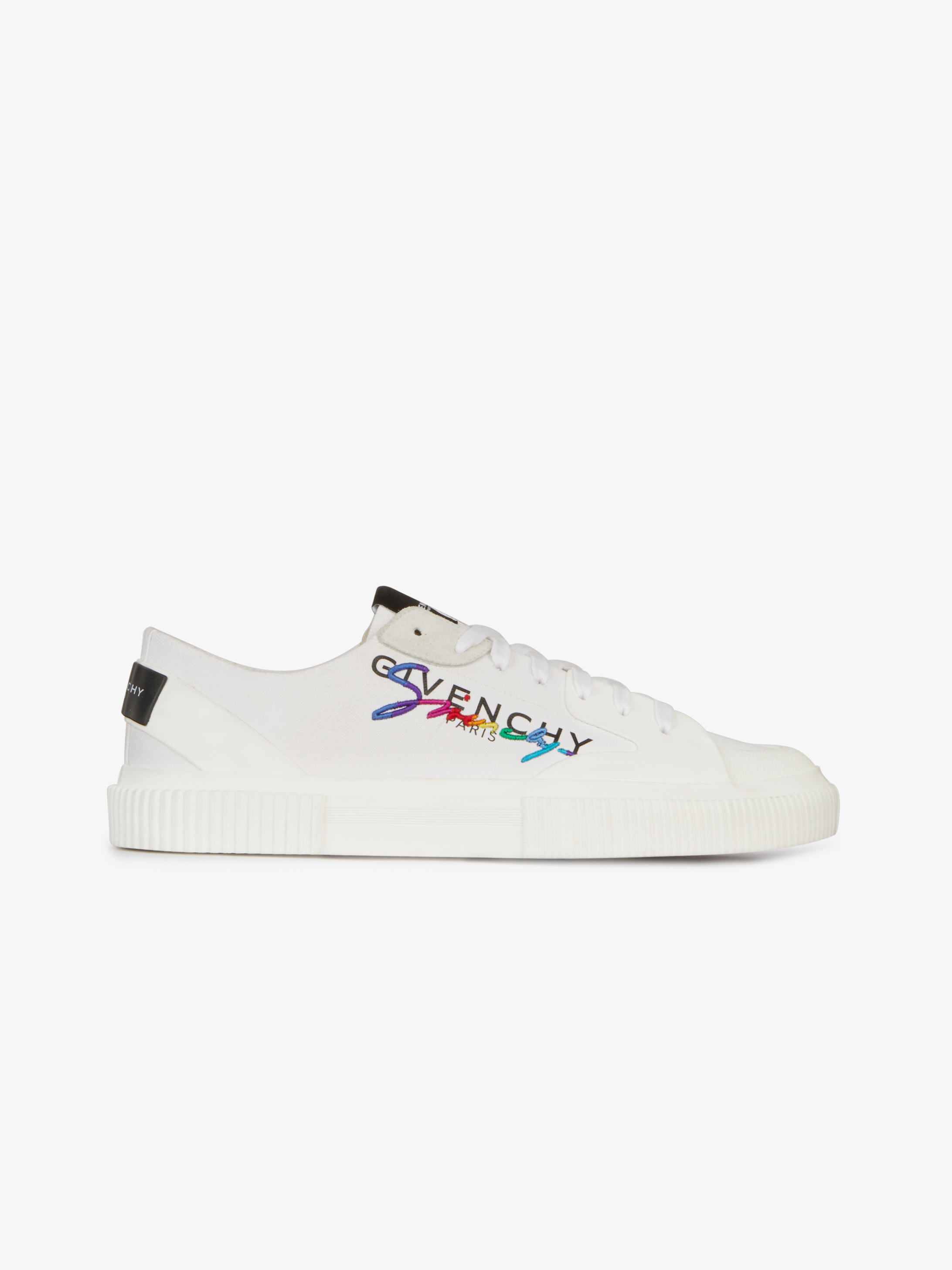 GIVENCHY low sneakers in canvas
