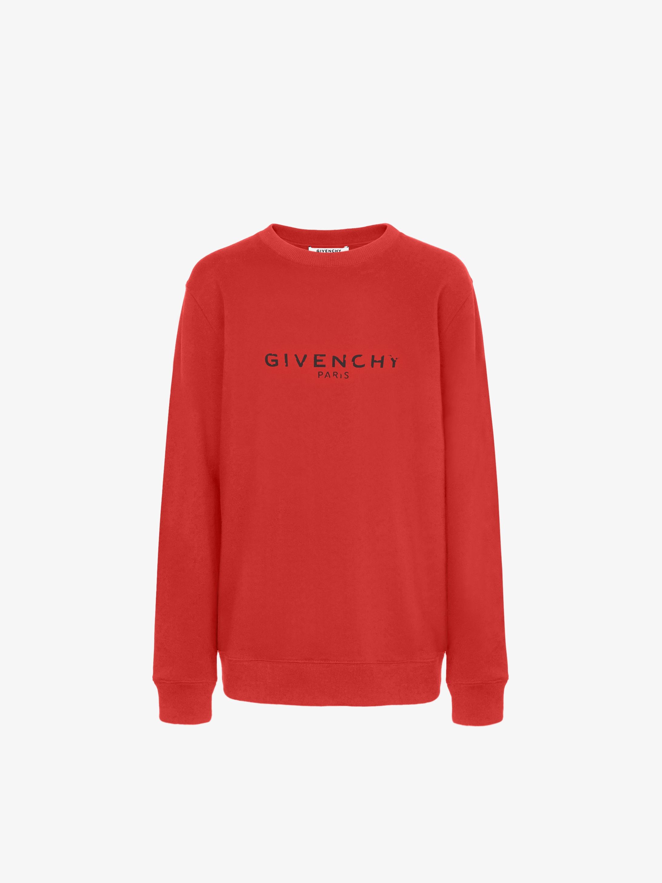 GIVENCHY PARIS sweatshirt