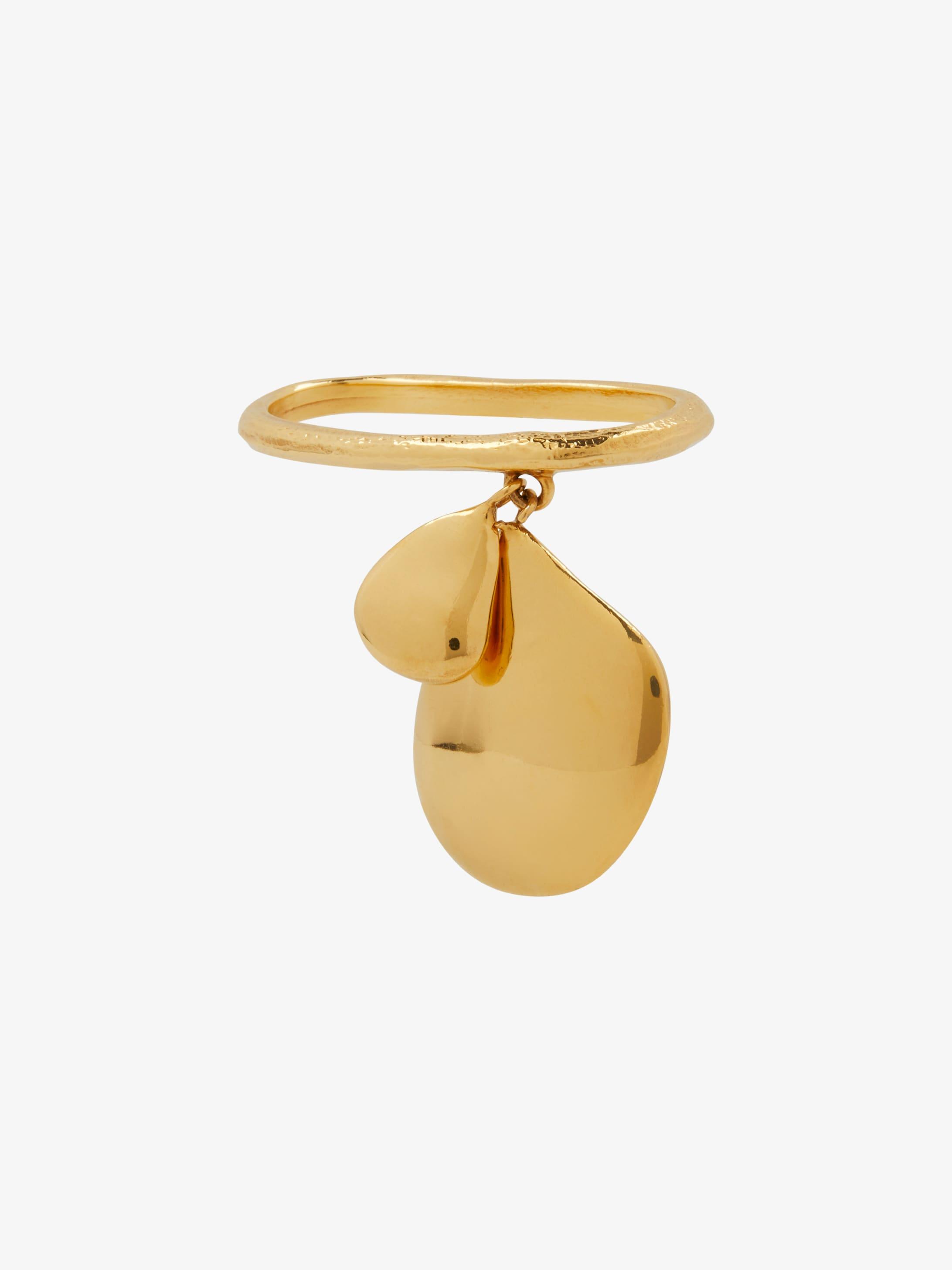 Double finger pendant ring