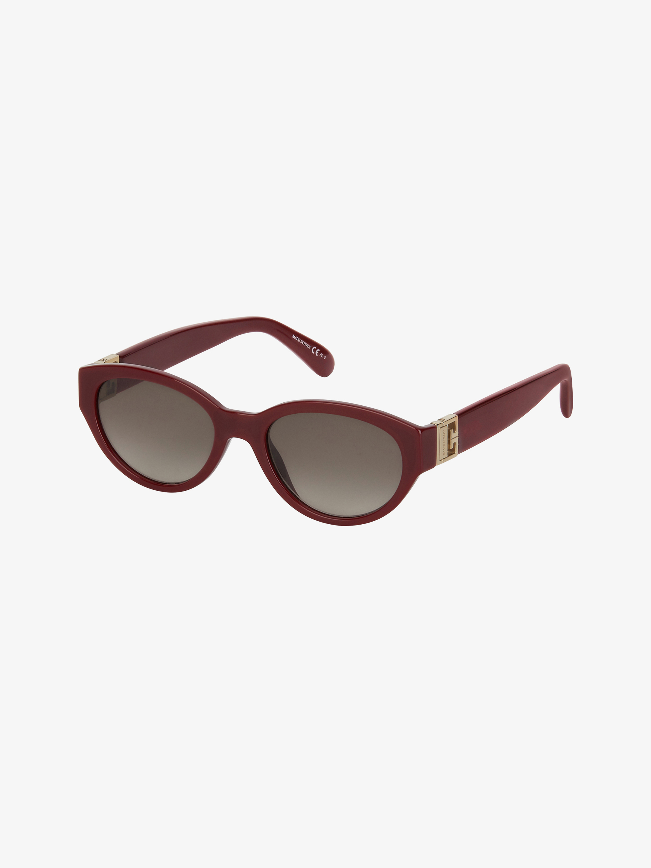 GV3 round sunglasses in acetate