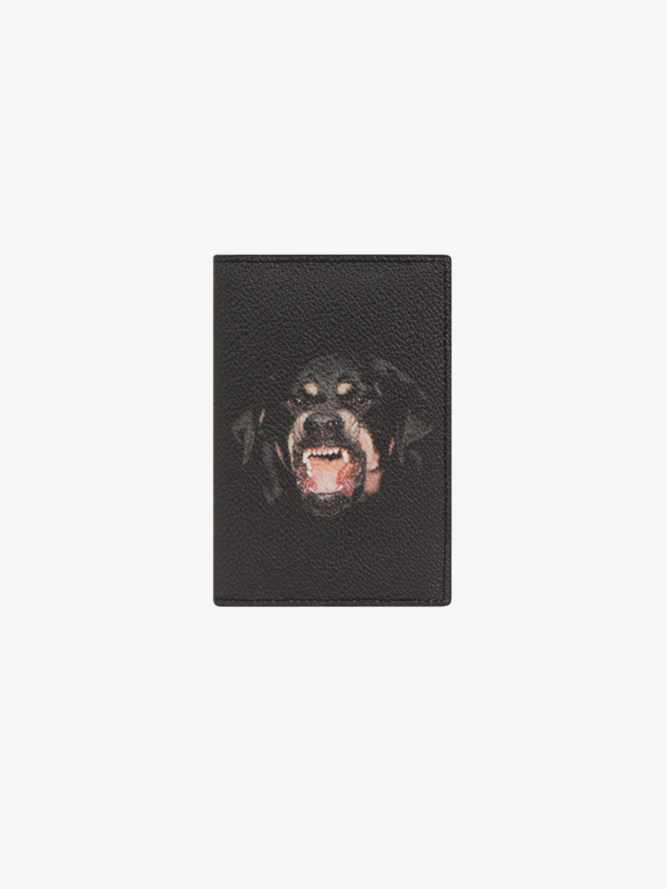 Rottweiler printed wallet in coated canvas
