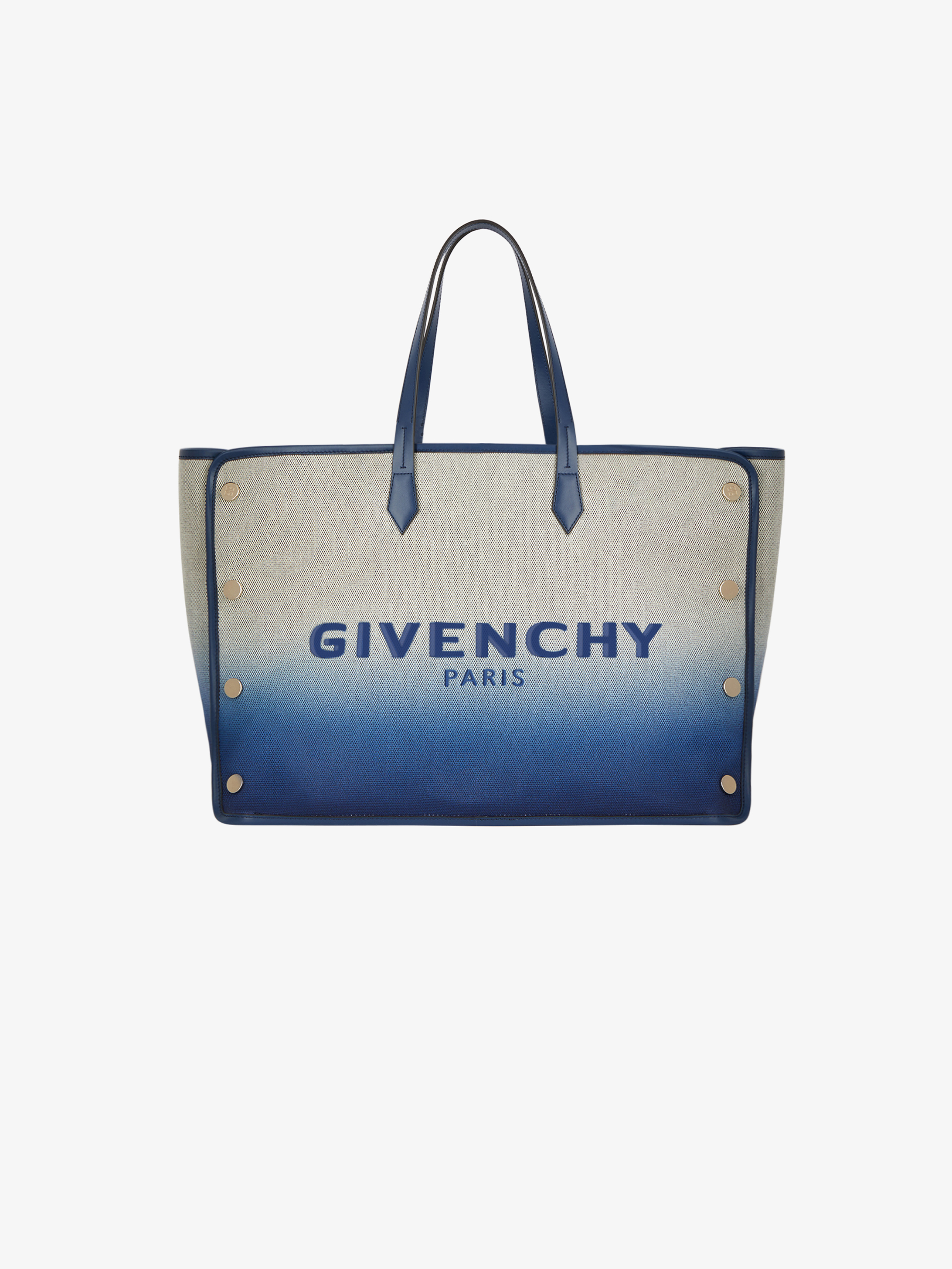Large Bond shopper in GIVENCHY faded canvas