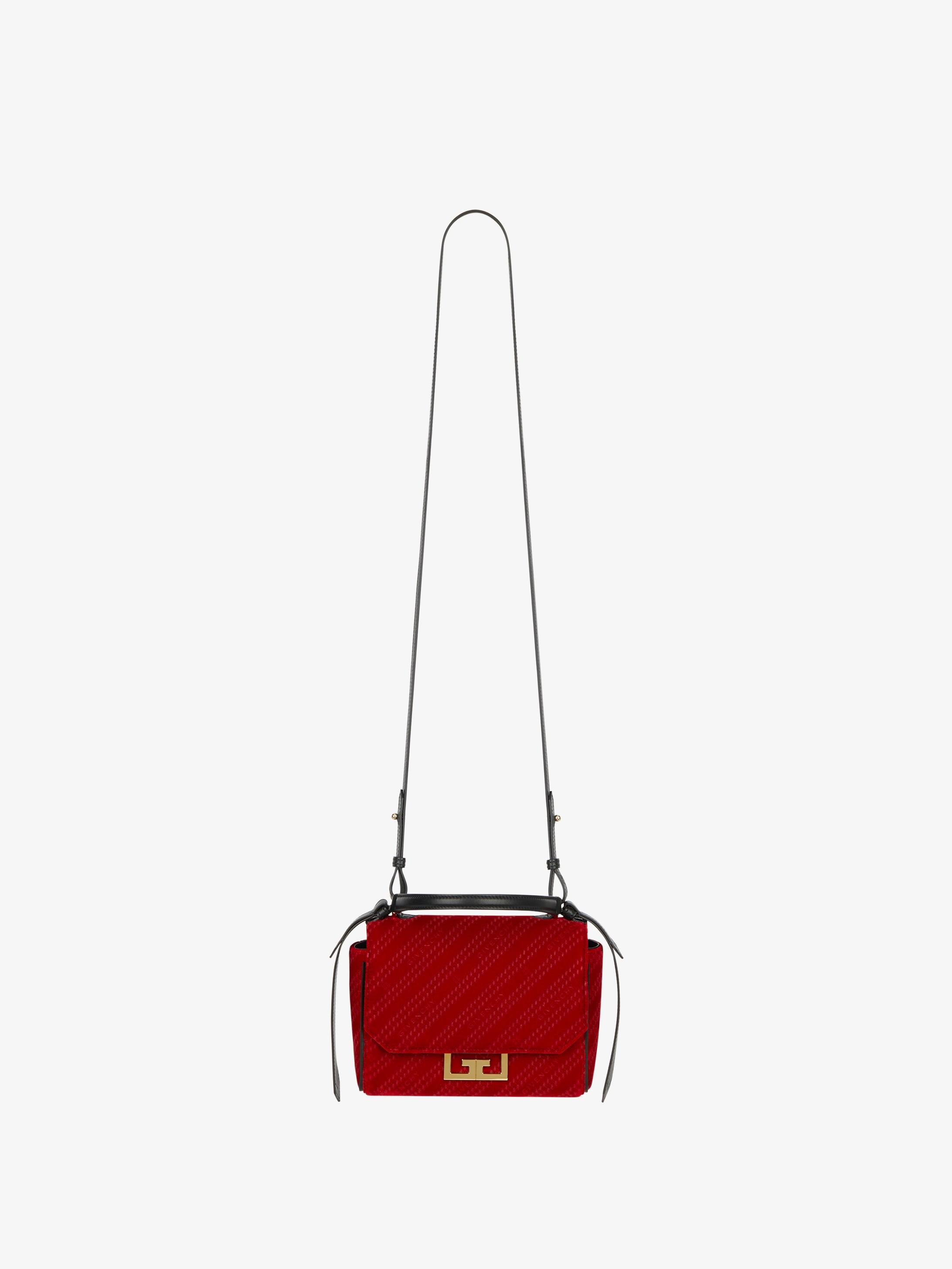 GIVENCHY chain mini Eden bag in velvet