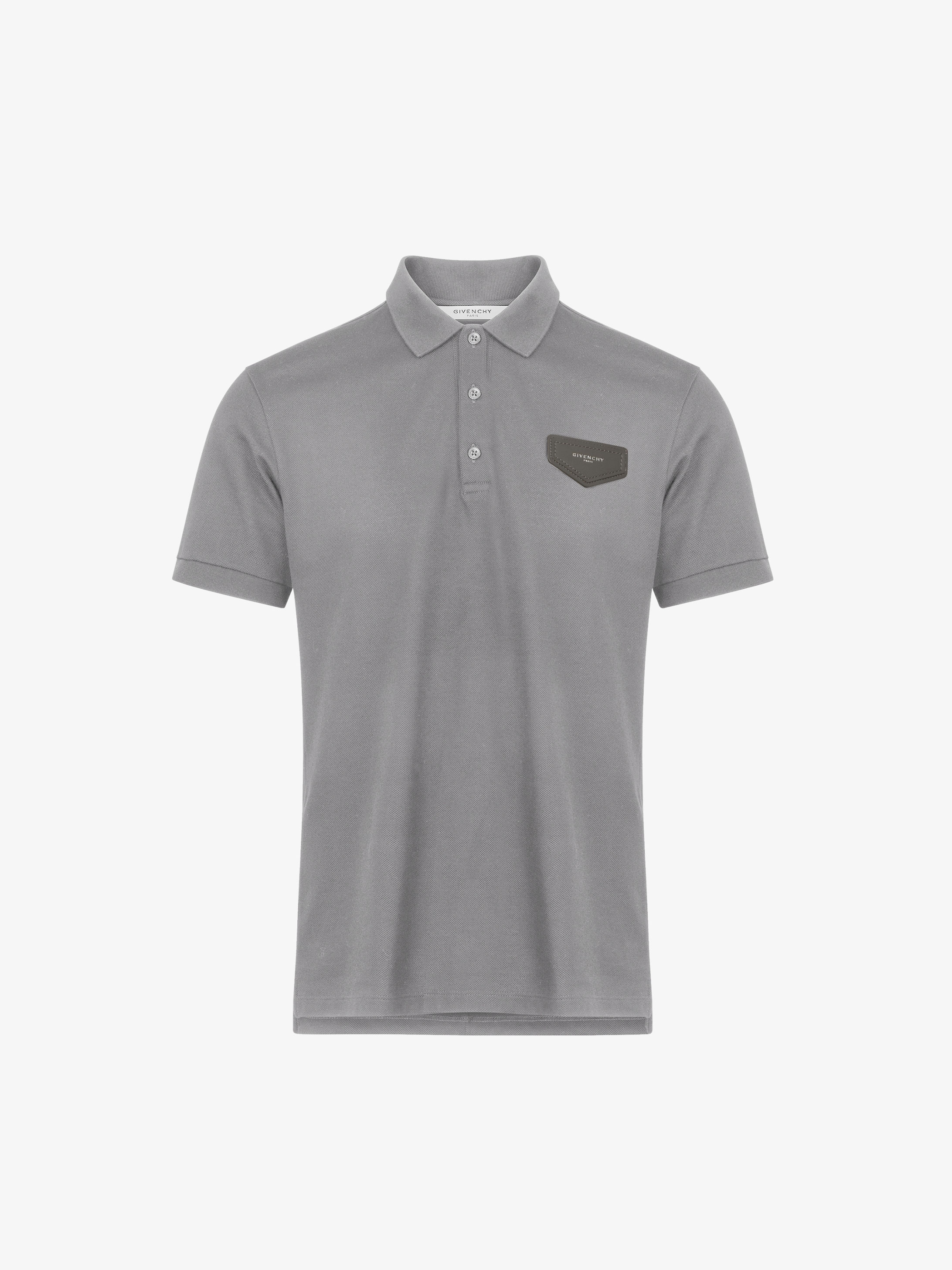 GIVENCHY patch polo shirt in cotton