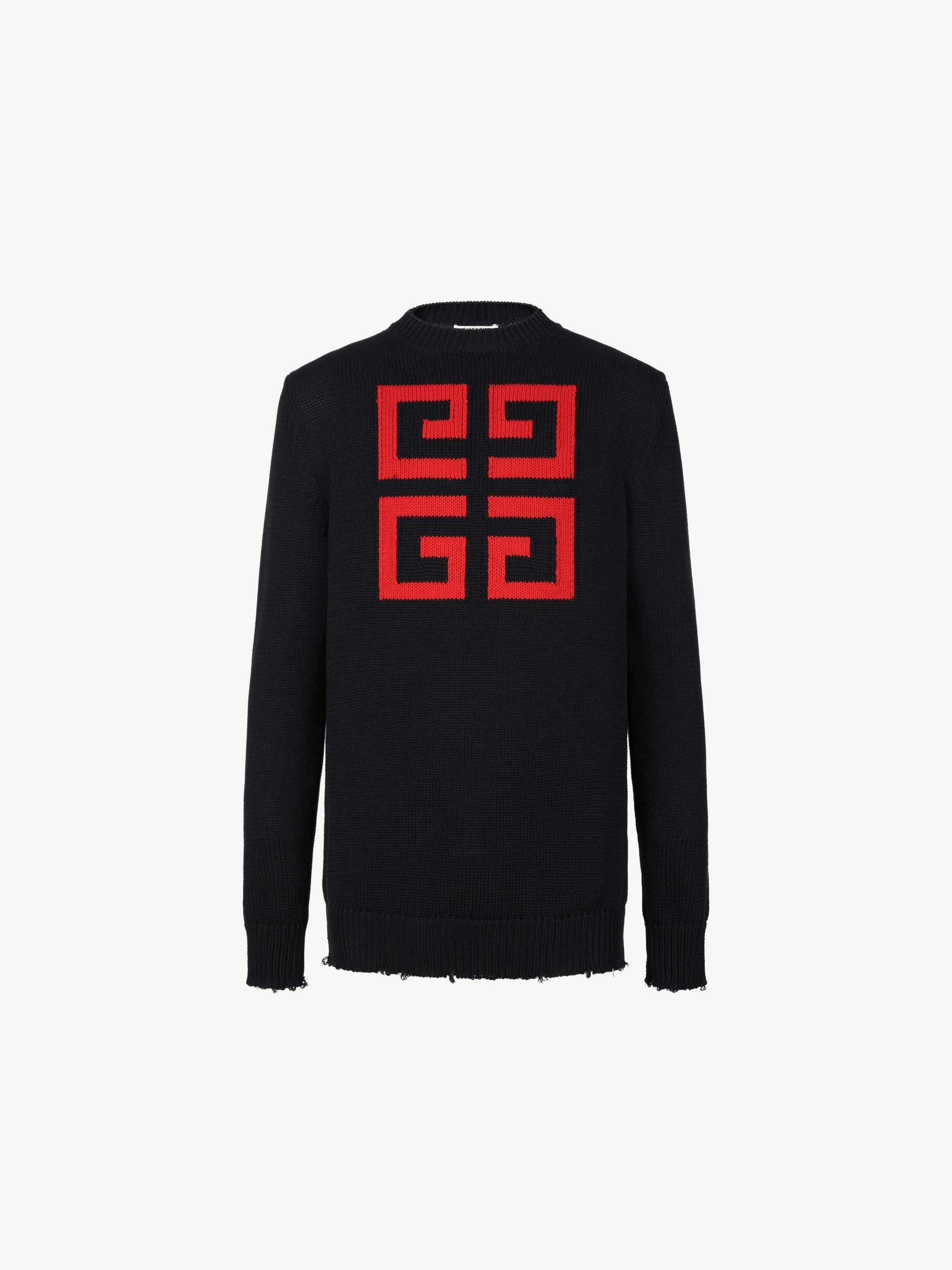 4G jumper in cotton