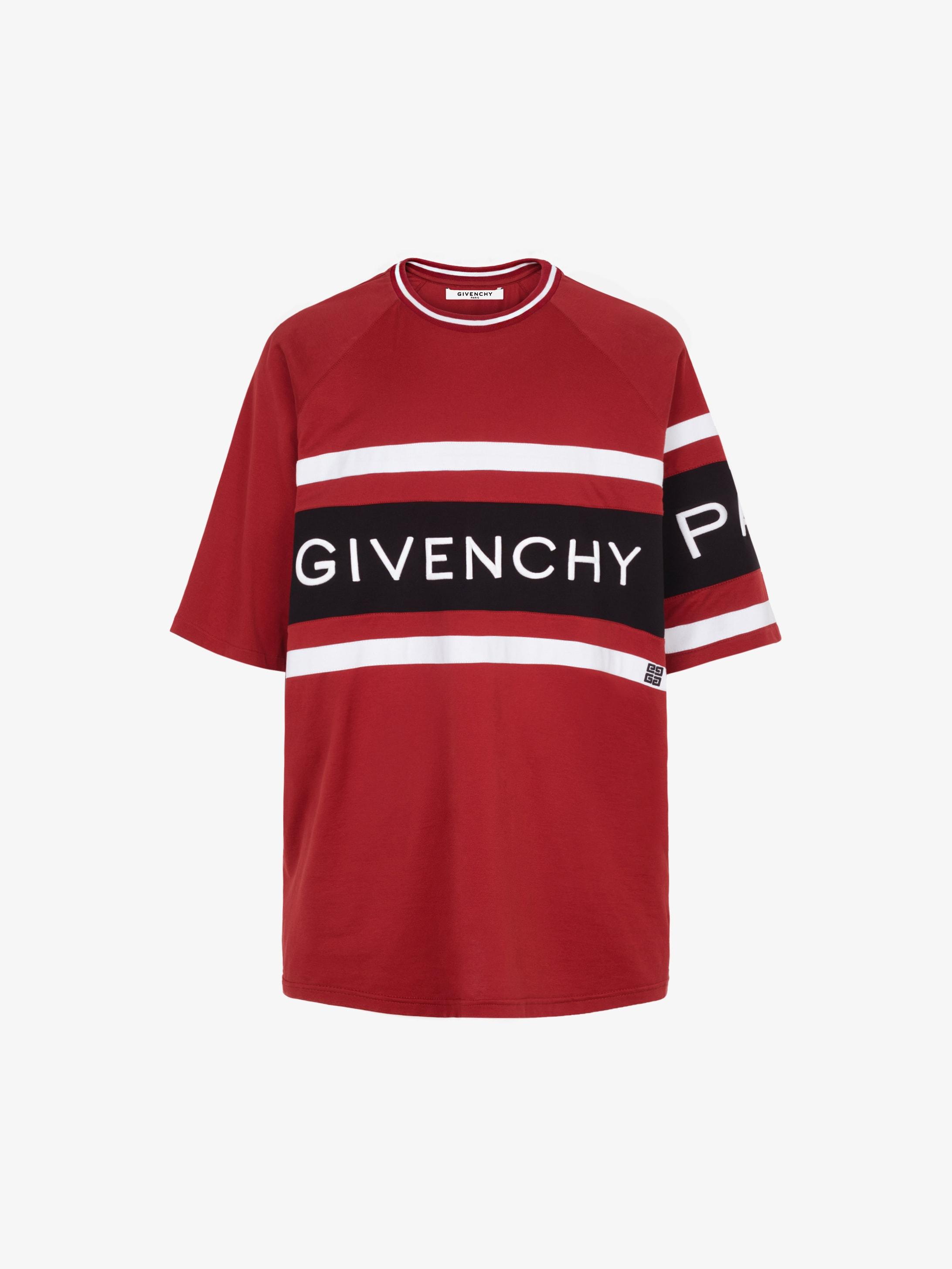 282b62ad GIVENCHY 4G contrasting slim T-shirt | GIVENCHY Paris