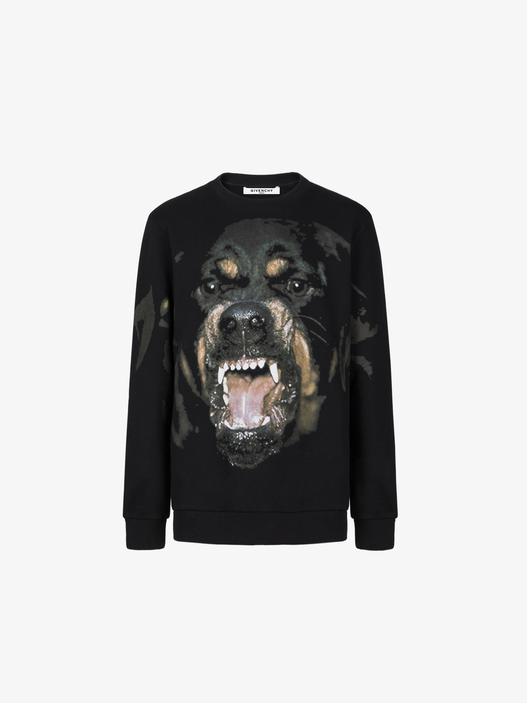 Givenchy Rottweiler printed sweatshirt  210c0fee0f27f