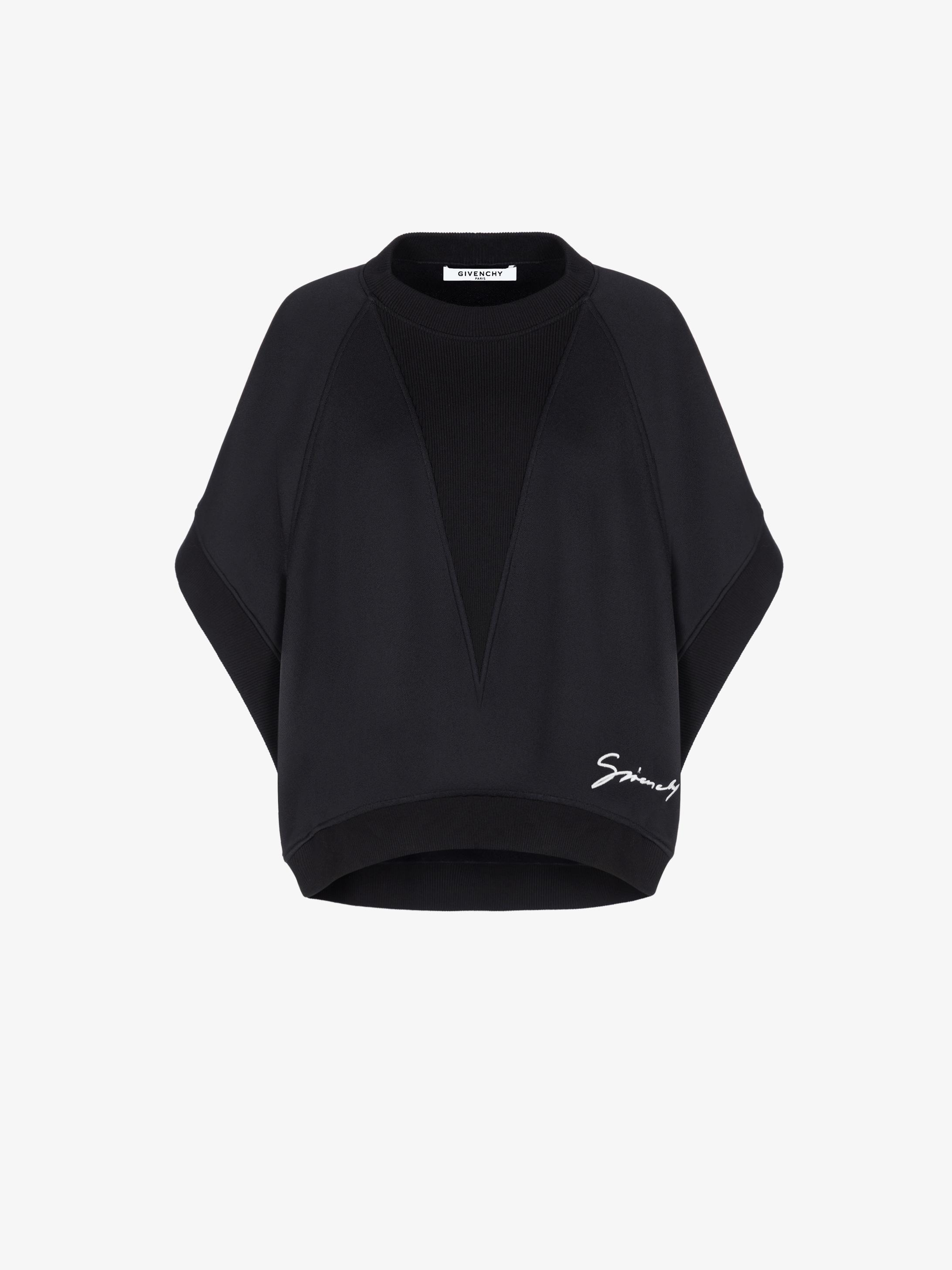 GIVENCHY short sleeves oversized sweatshirt