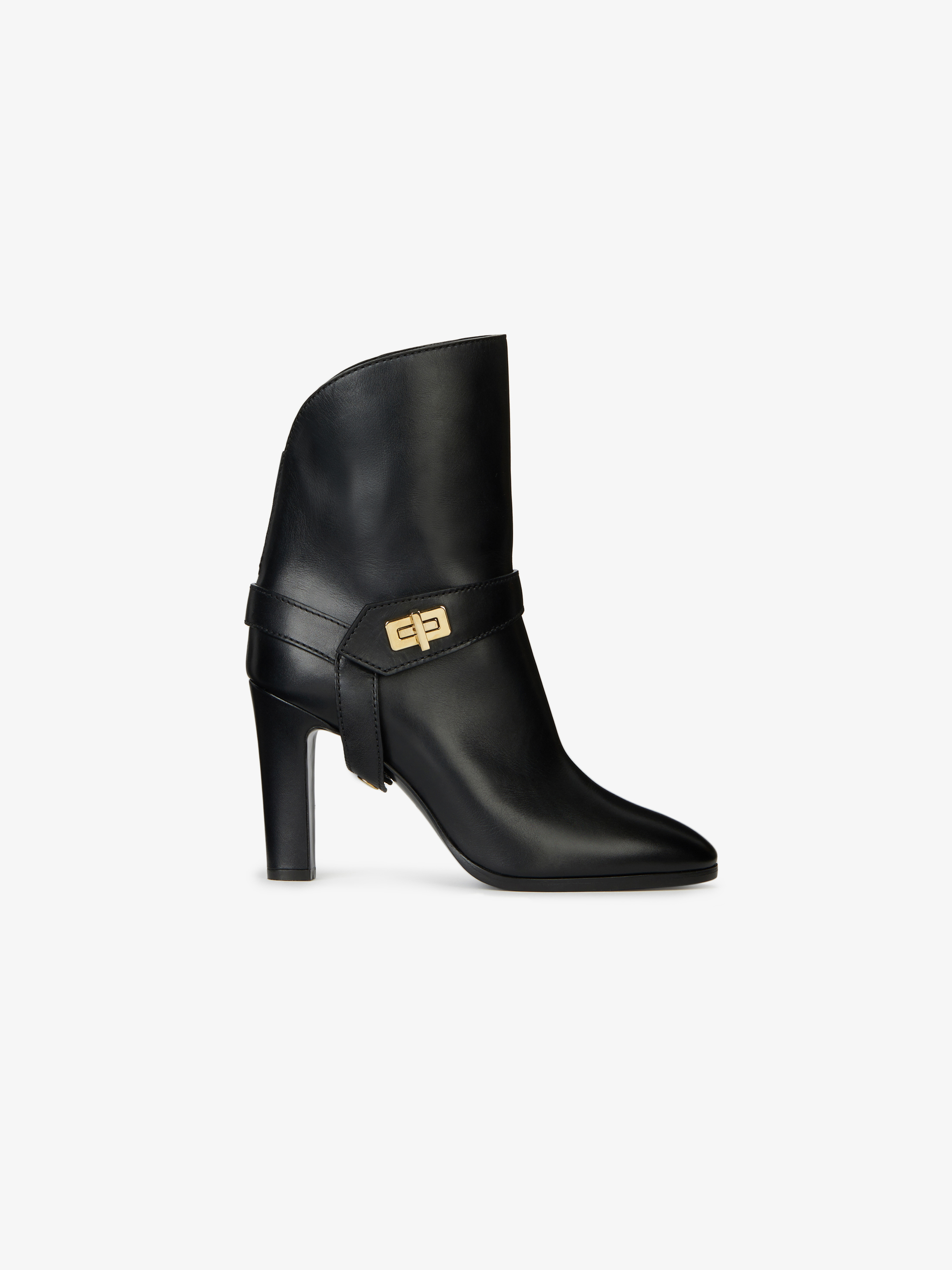 Bottines Eden en cuir lisse