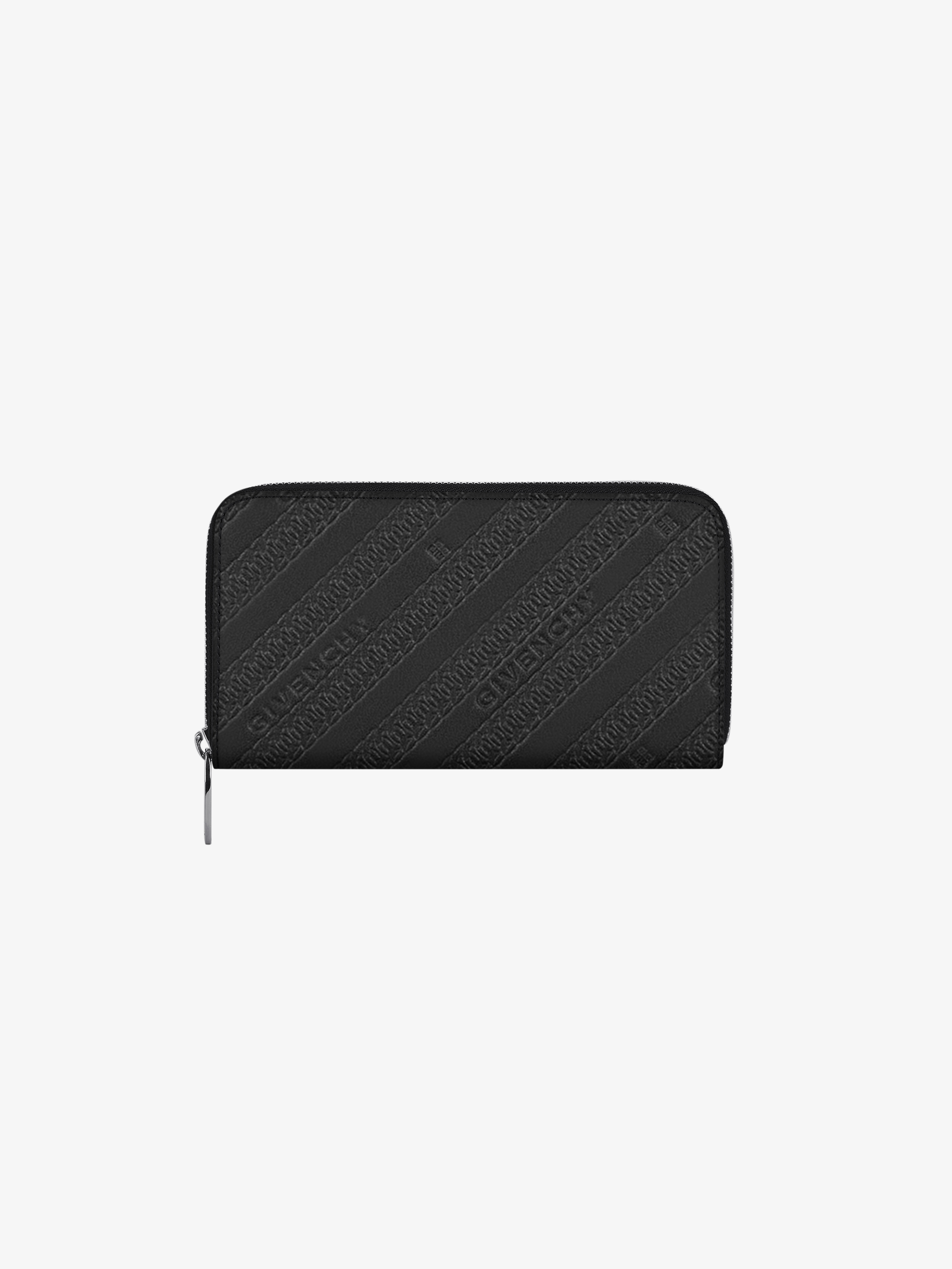 GIVENCHY long zipped wallet in leather