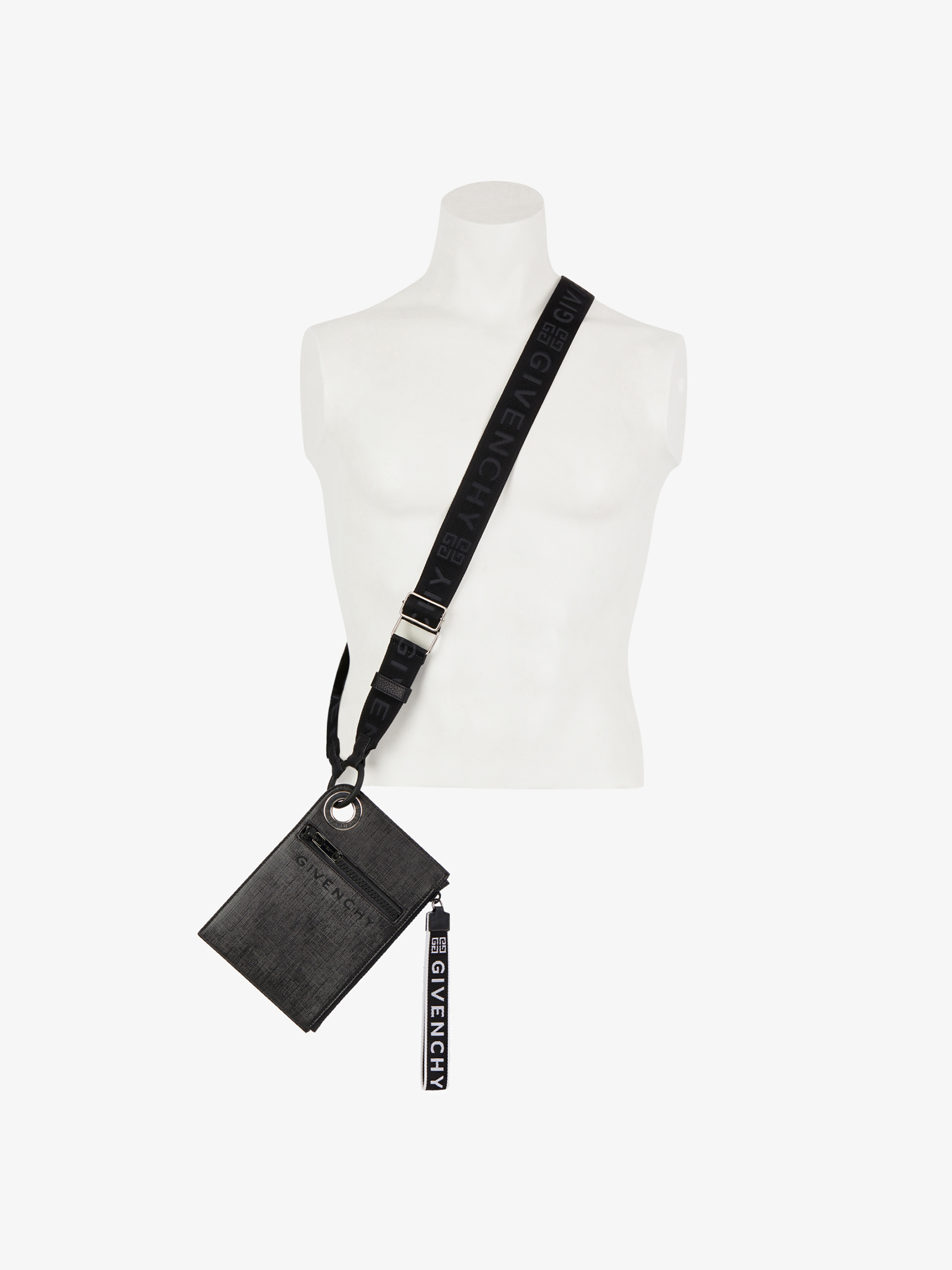 85235d0c6f40 JAW slim cross-body bag in coated canvas
