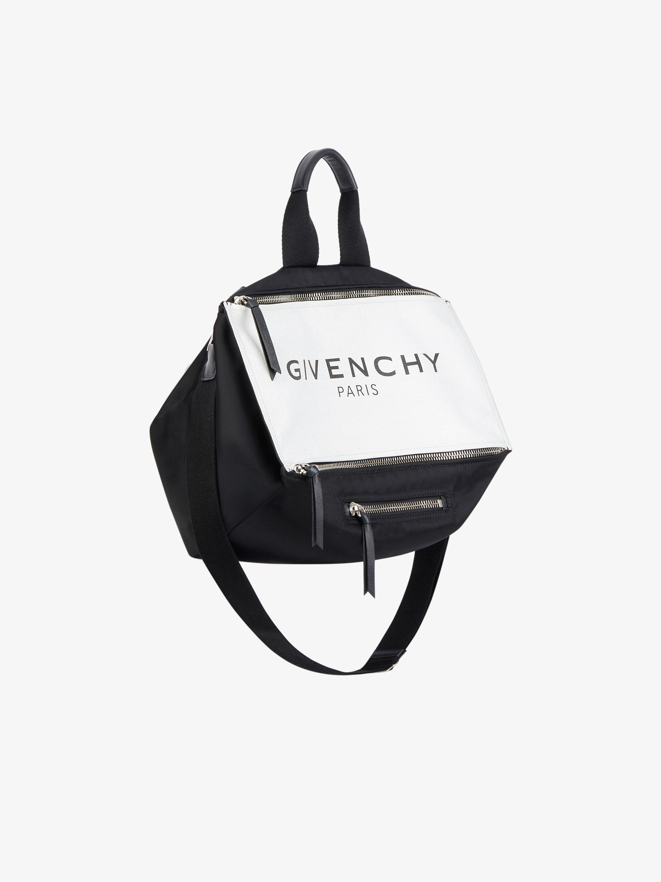 GIVENCHY PARIS Pandora Messenger glow in the dark bag