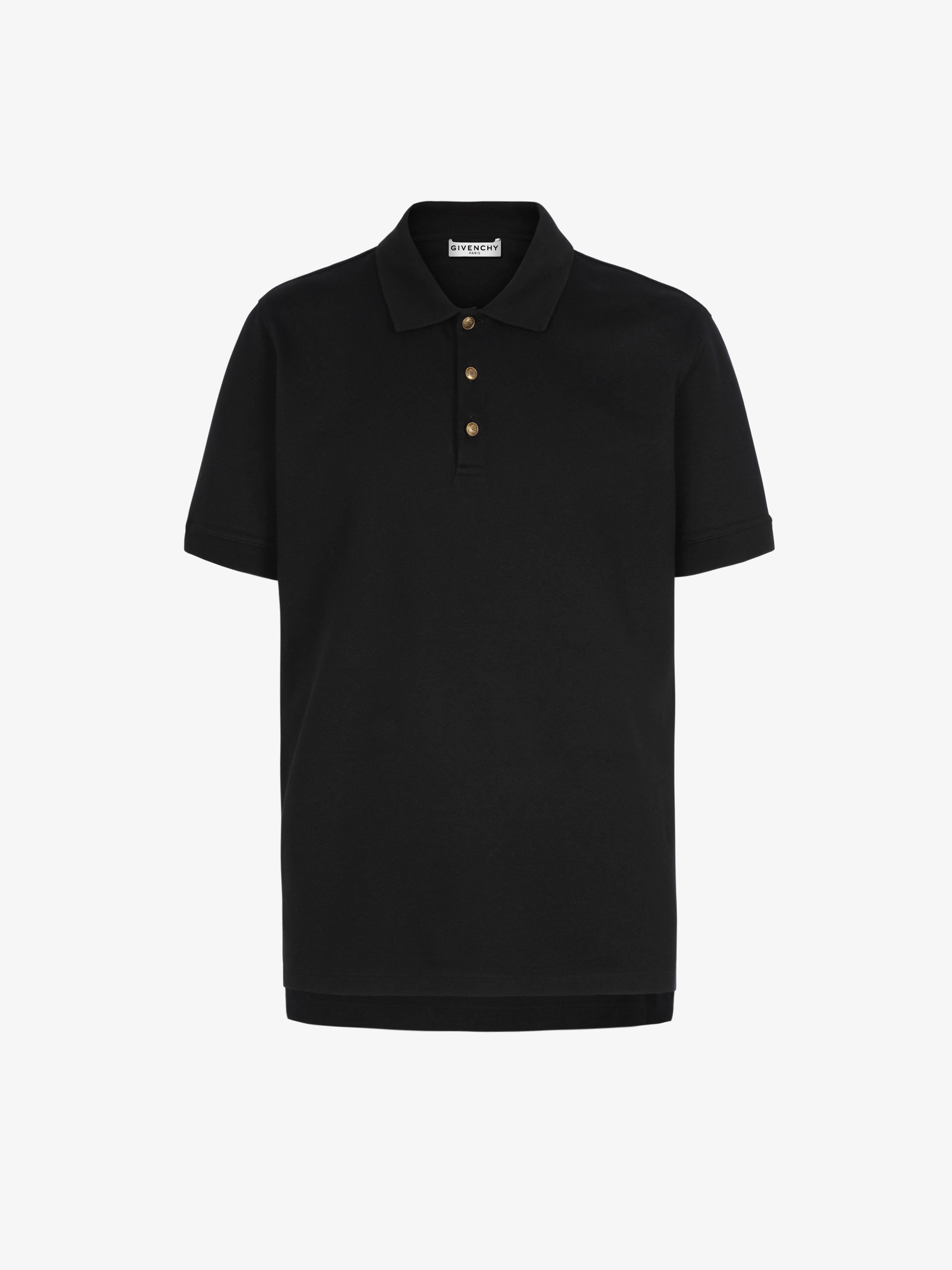 4G buttons slim fit polo