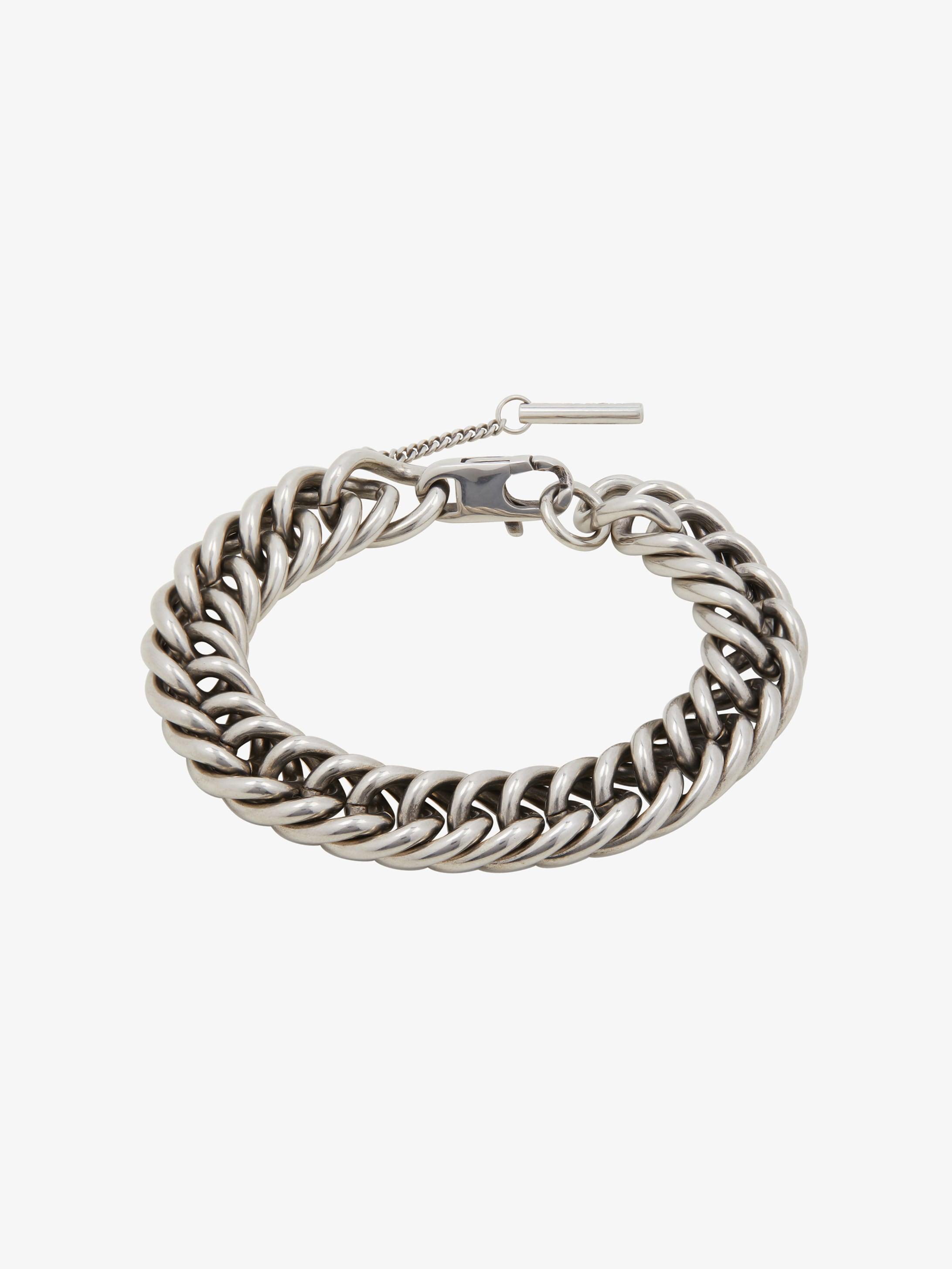 Chain bracelet in brass