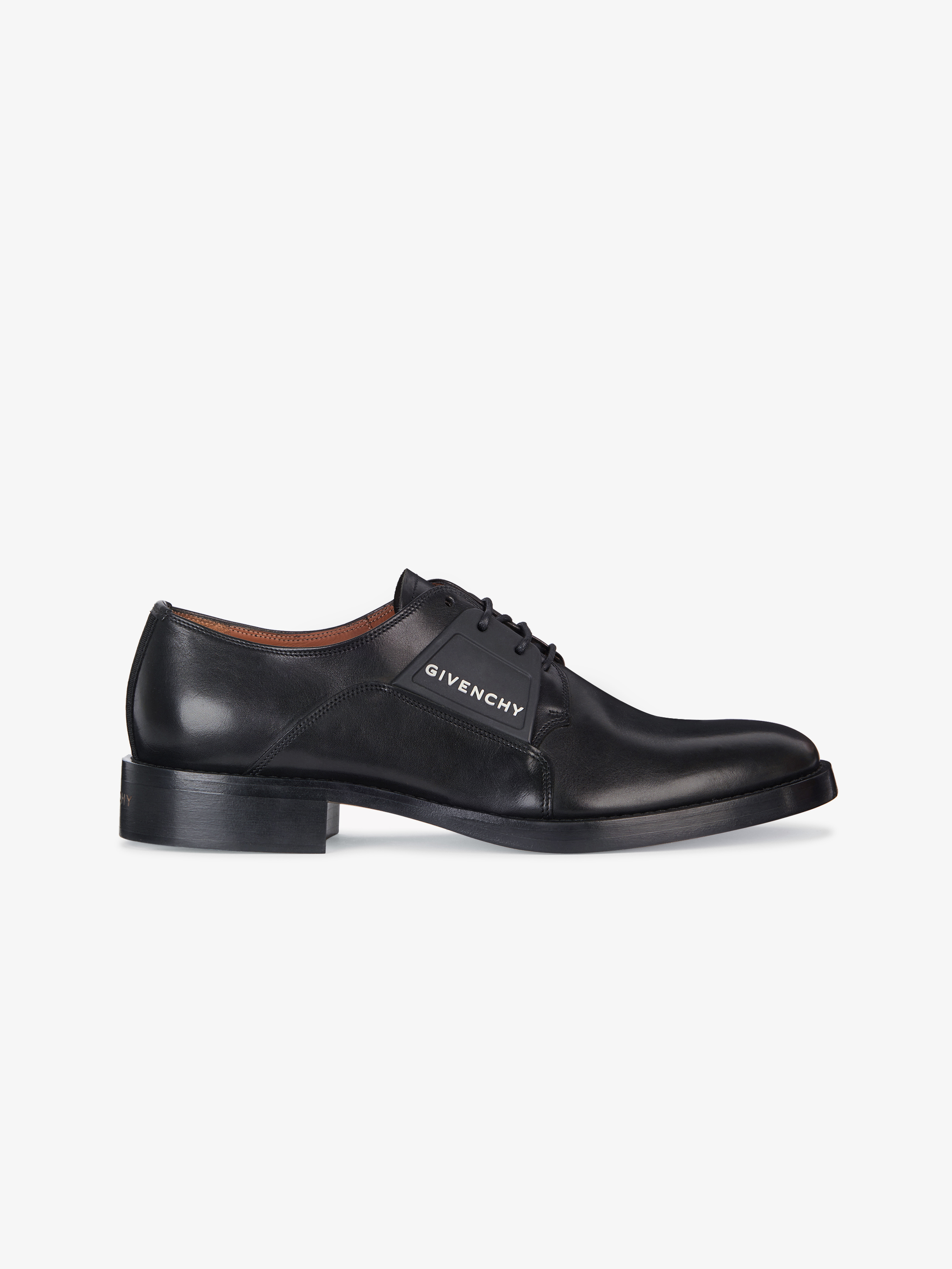 GIVENCHY derby shoes with patchs in leather