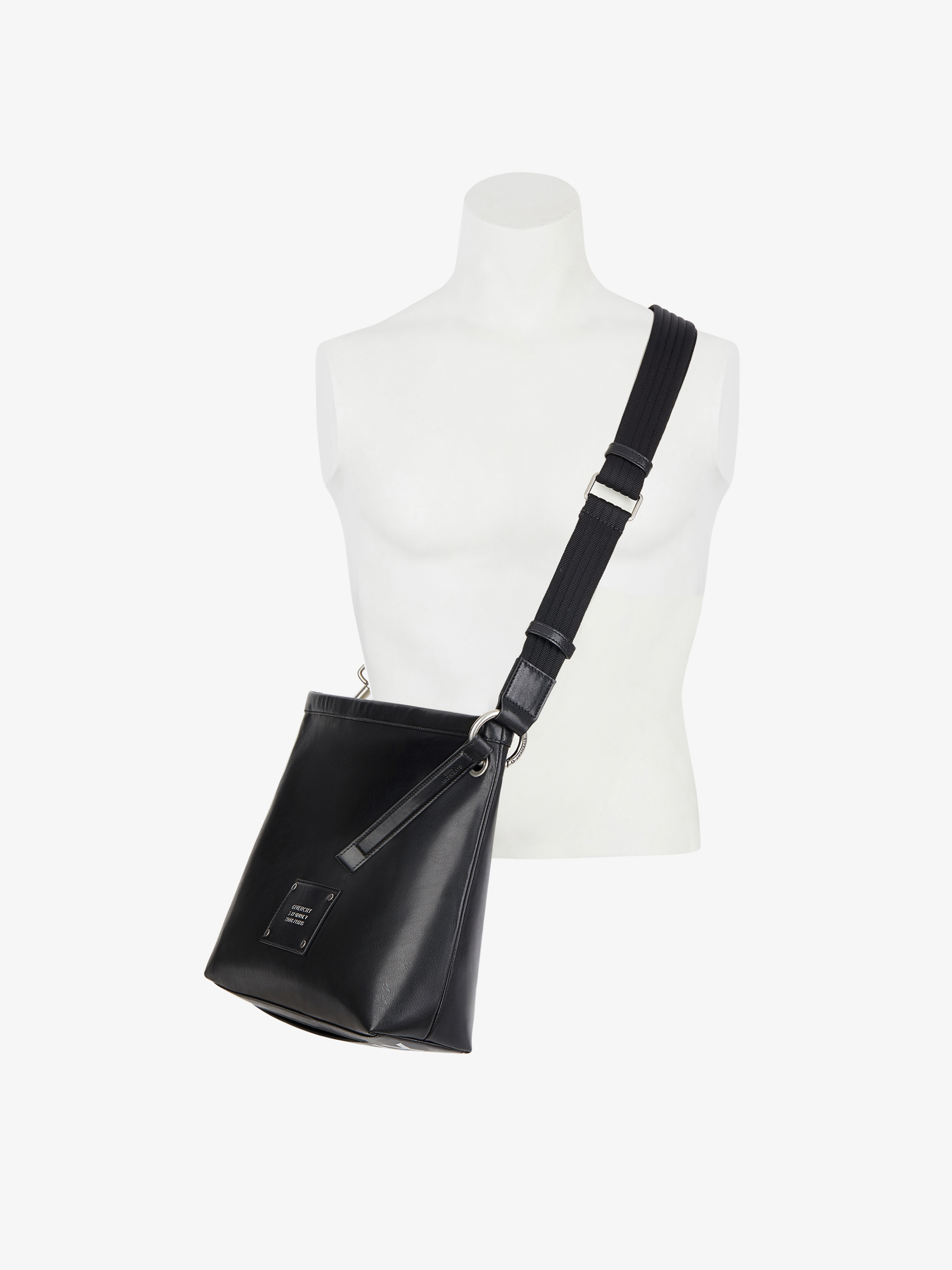 GIVENCHY Tag cross-body bag in smooth leather