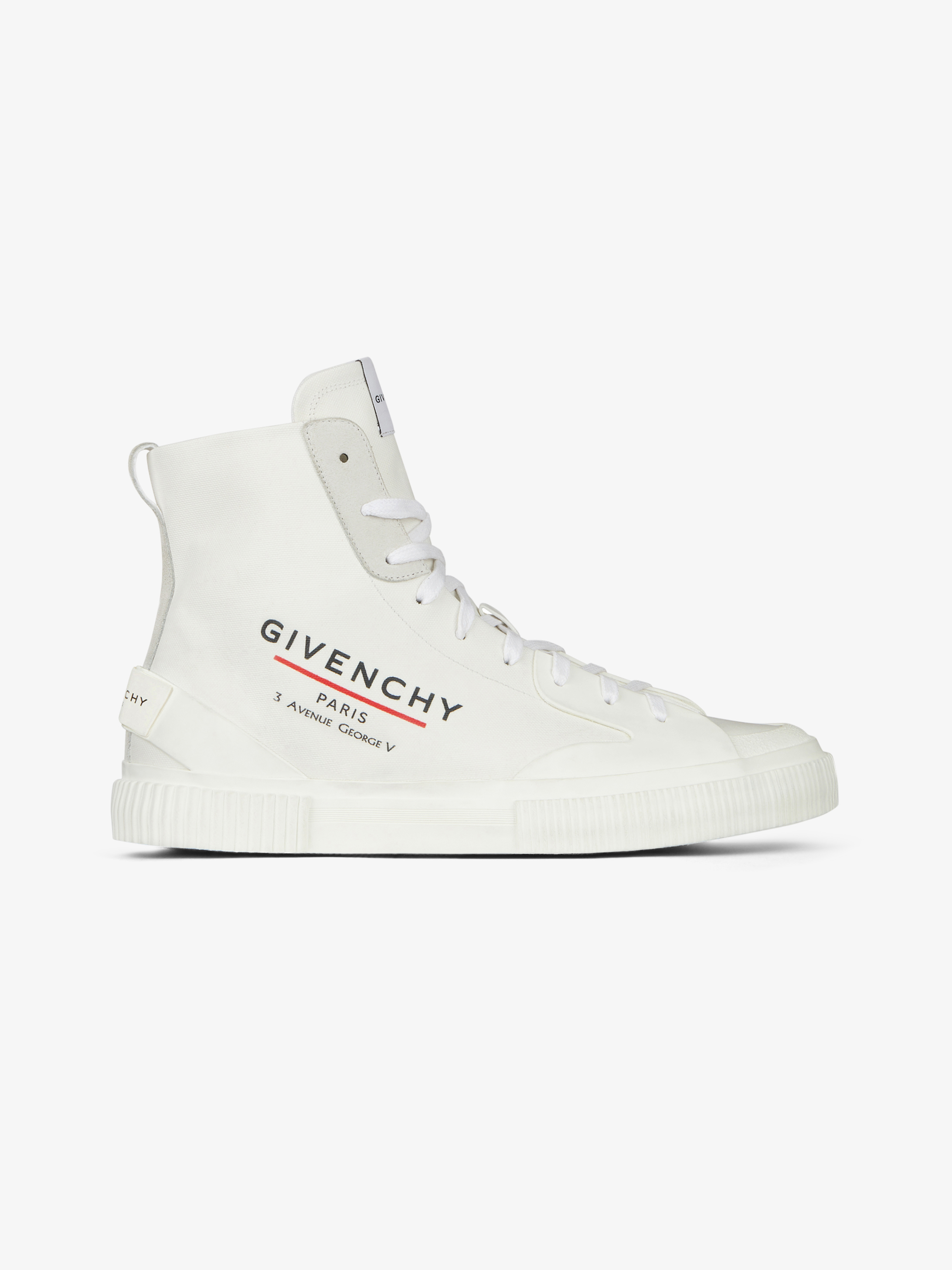 Tennis Light mid-height sneakers in GIVENCHY LABEL canvas