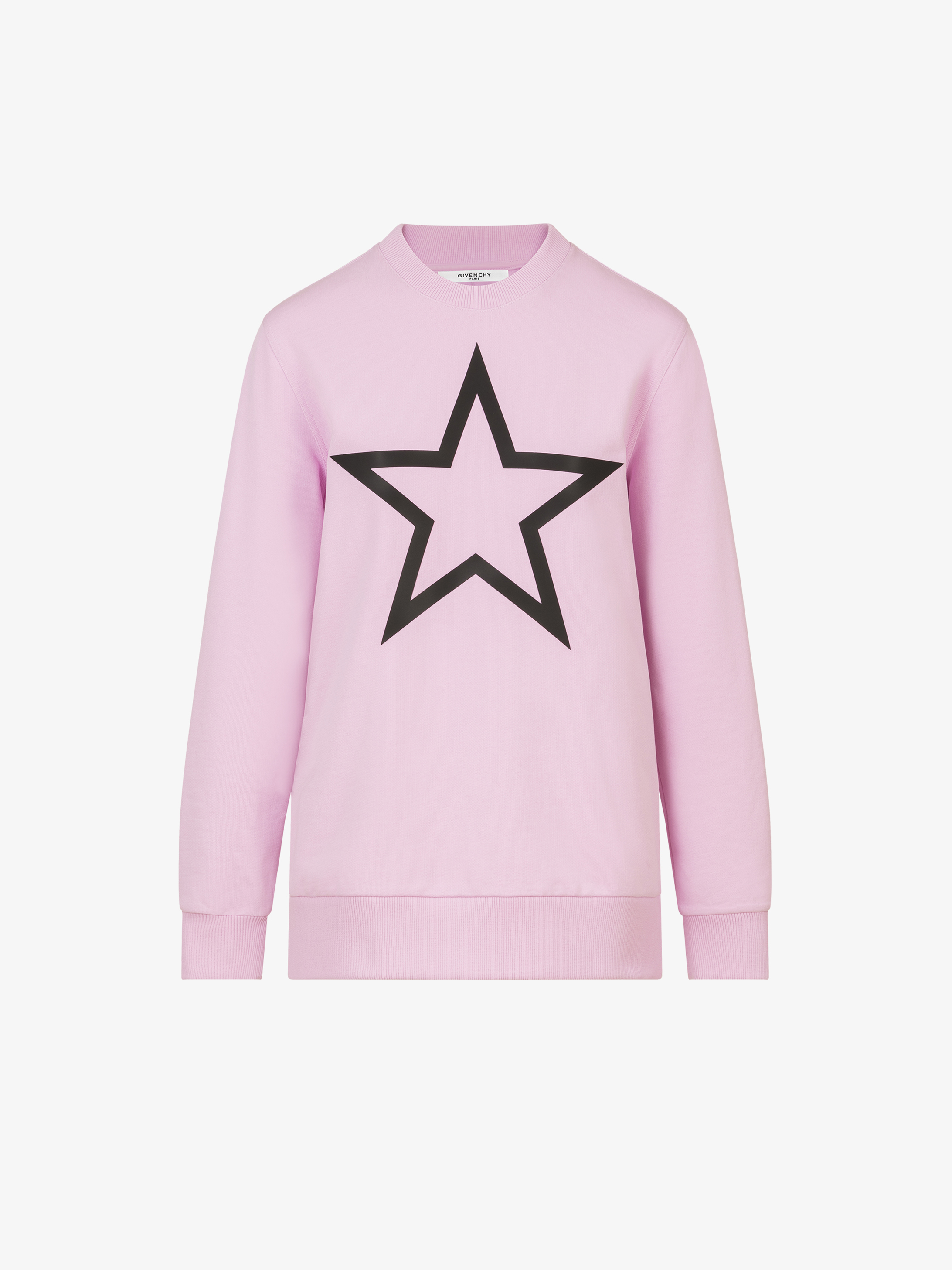 Sweatshirt oversized imprimé étoile