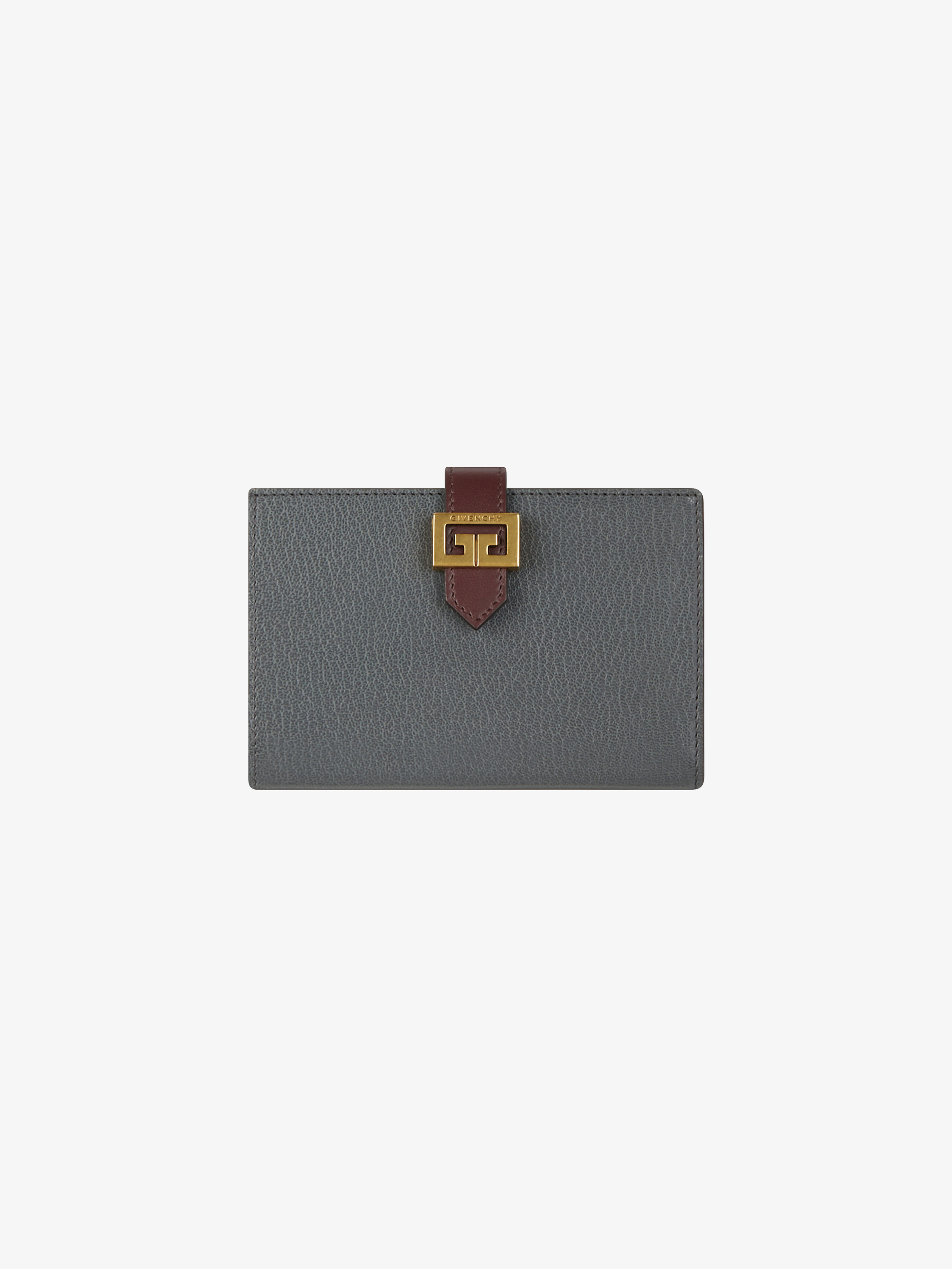 GV3 wallet in diamond quilted leather