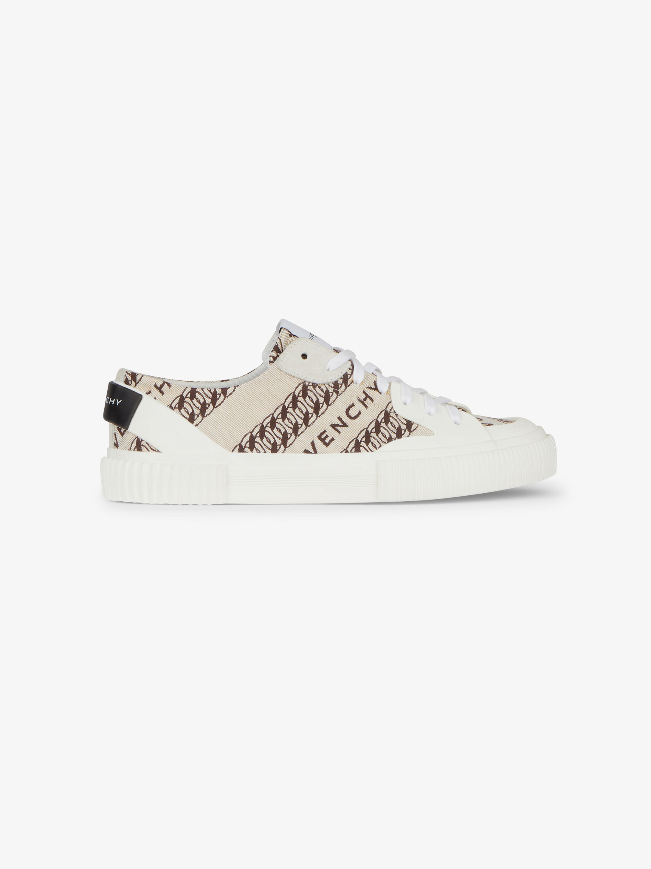 GIVENCHY Chain tennis Light low sneakers in canvas