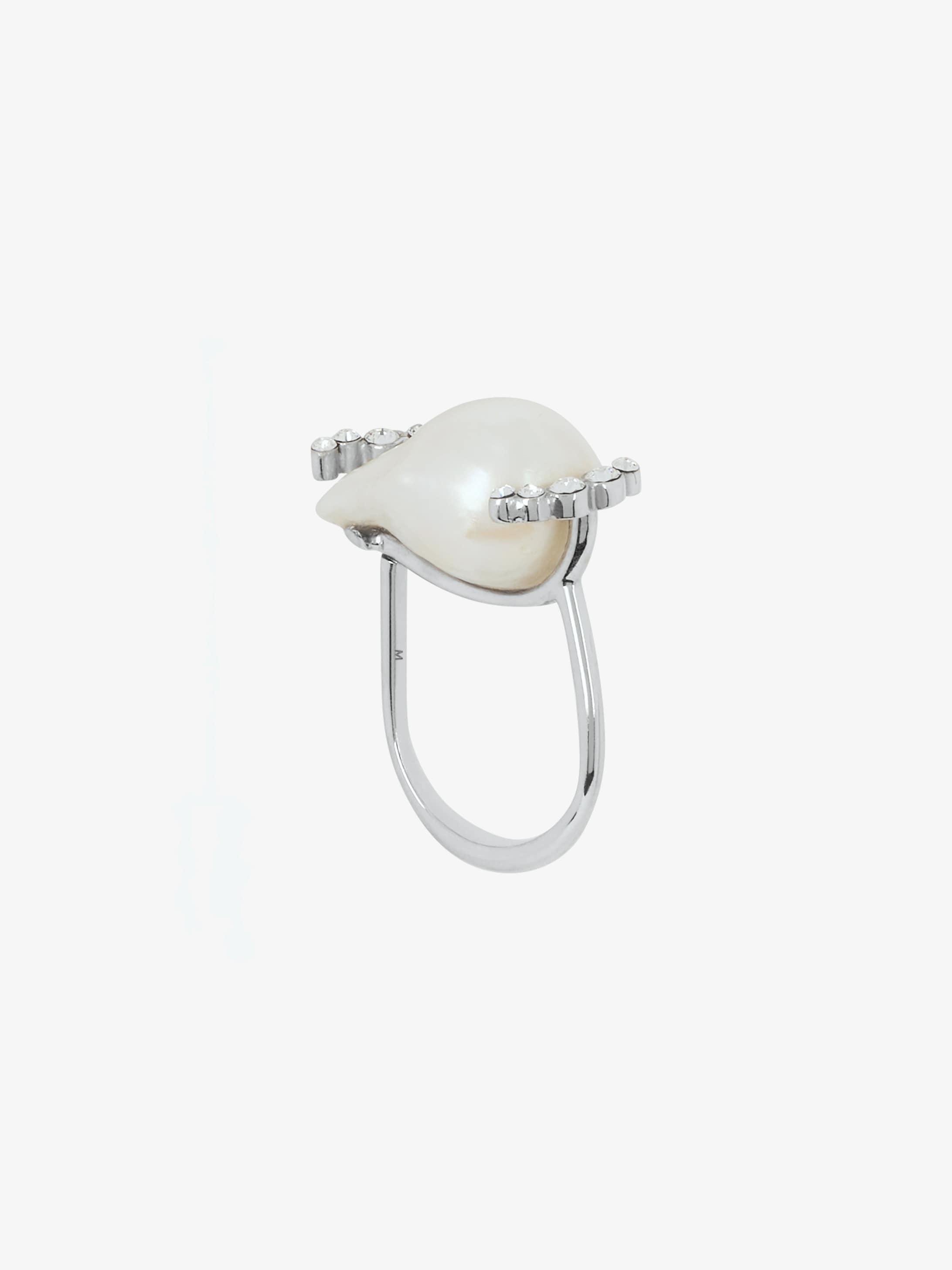 Midnight Pearl ring
