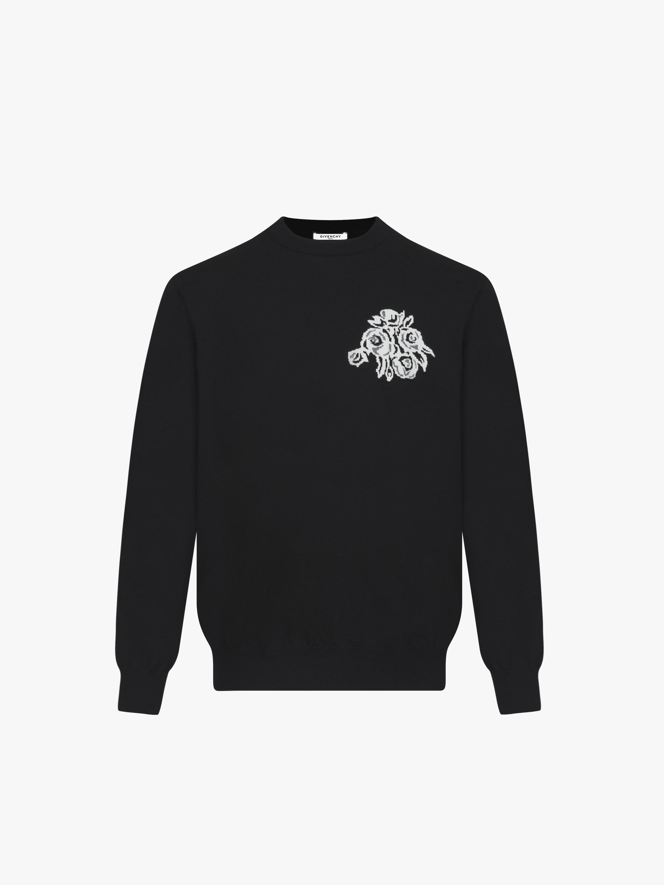 Flower printed jumper