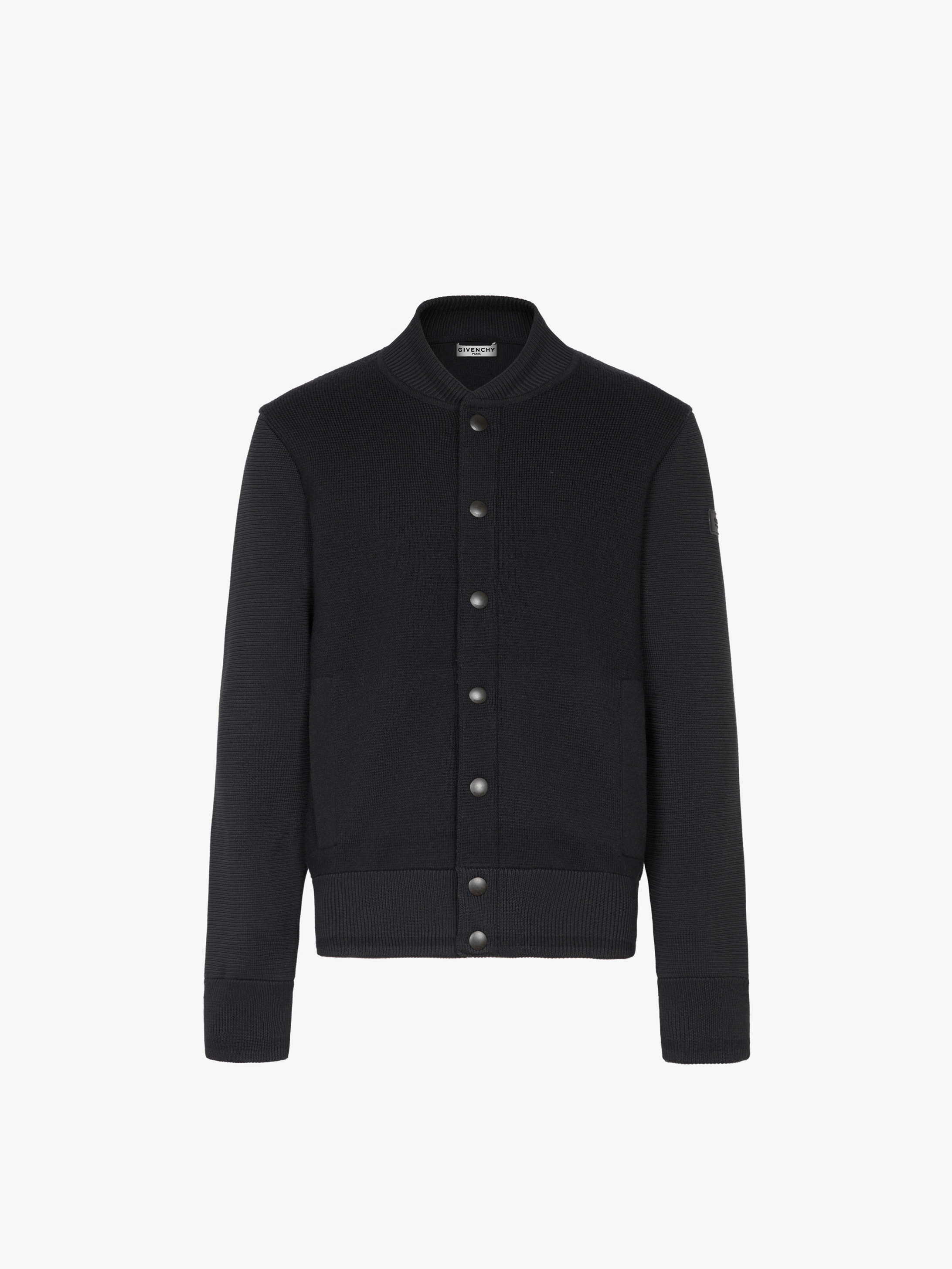 GIVENCHY bomber jacket in wool
