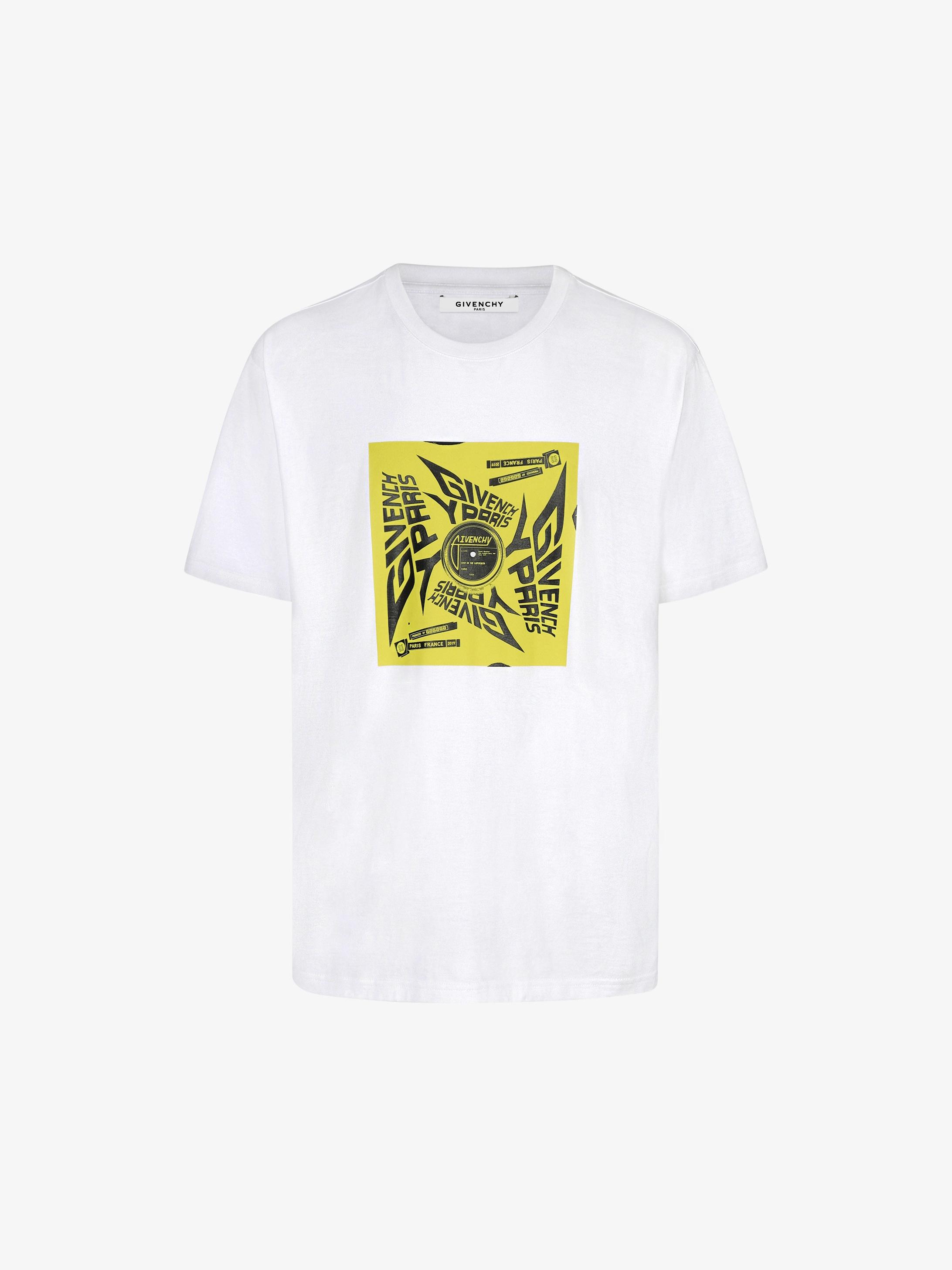 GIVENCHY PARIS sun printed T-shirt
