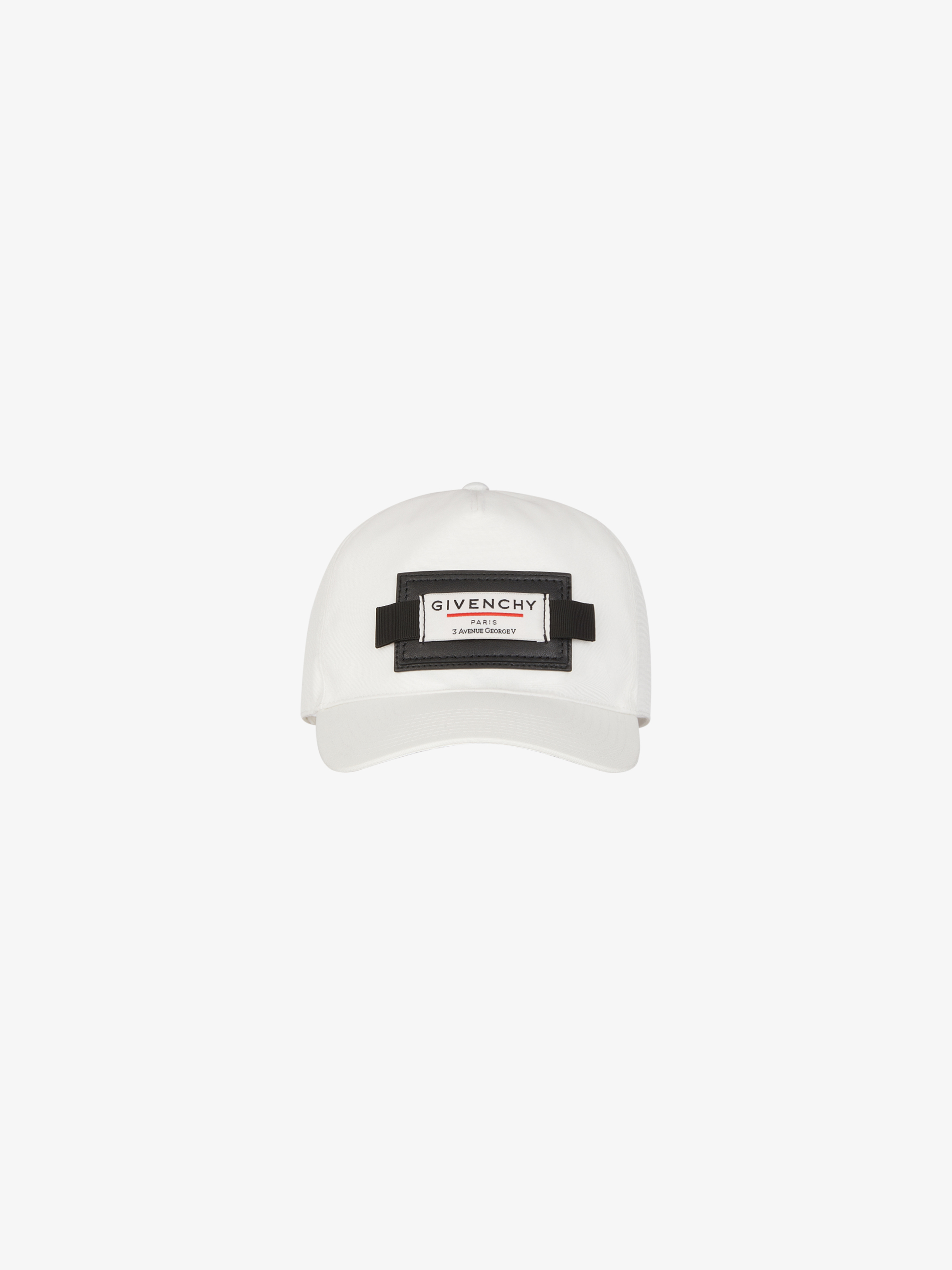 GIVENCHY Label cap with patch