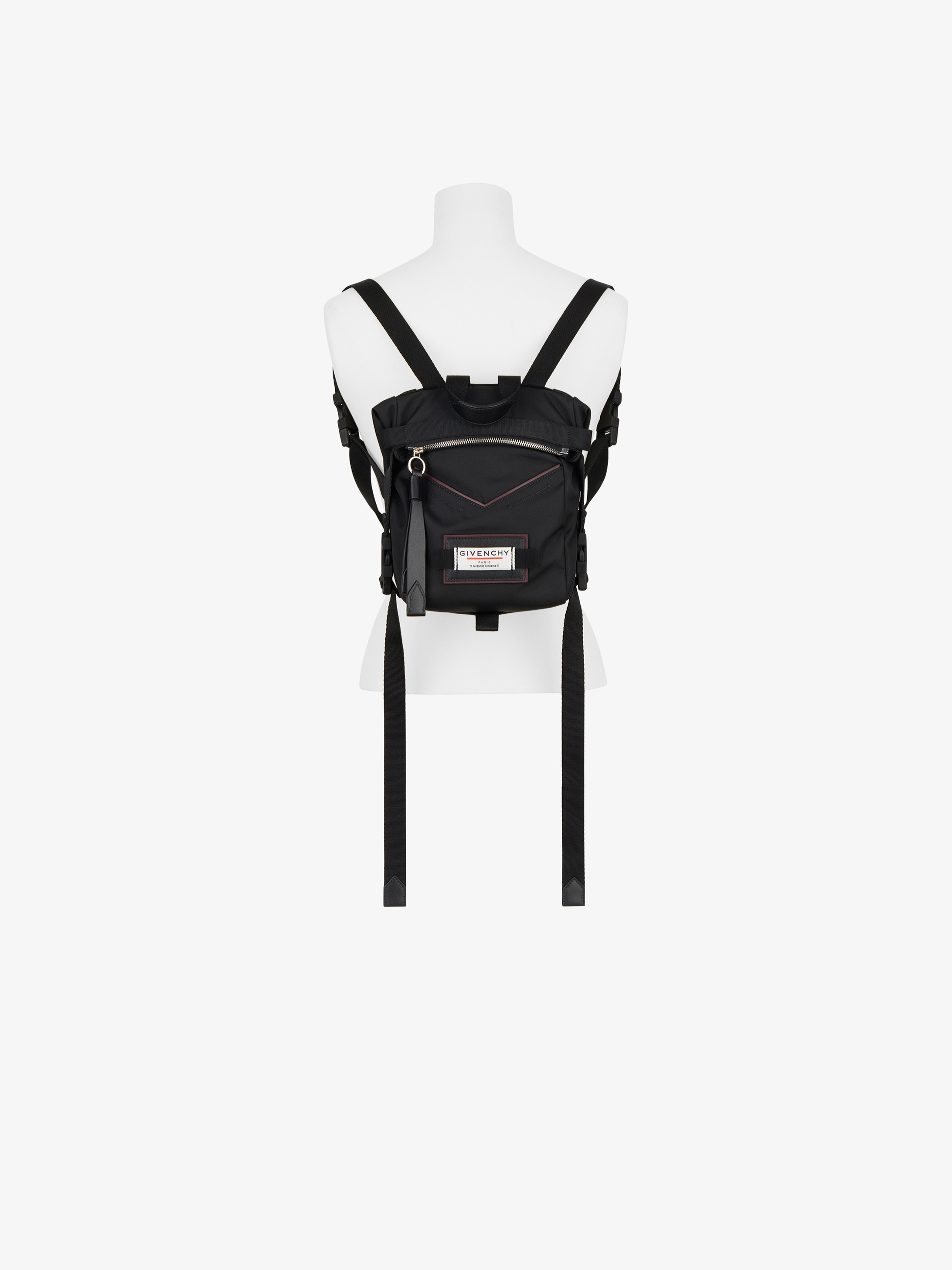 GIVENCHY Downtown mini backpack in nylon