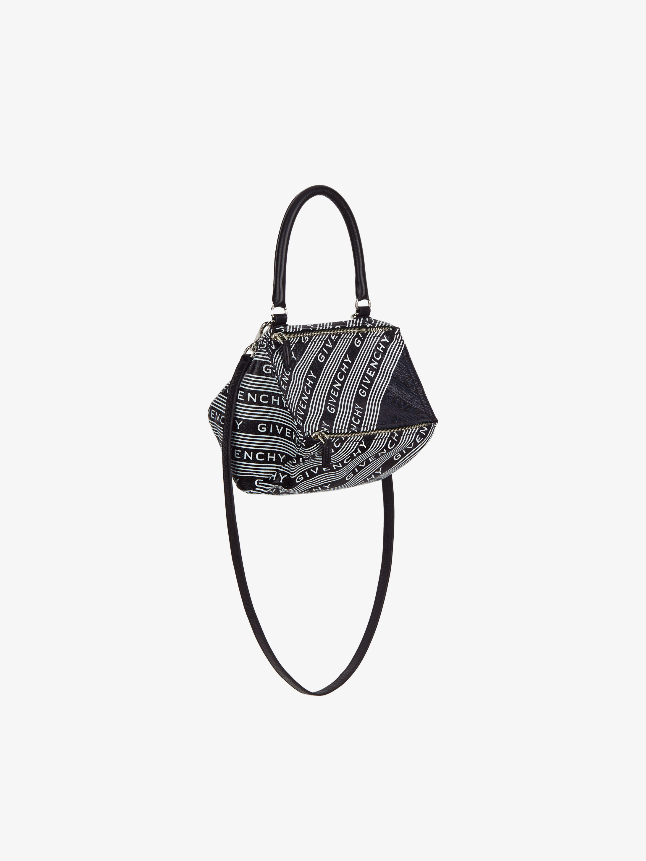 GIVENCHY small Pandora bag in striped leather