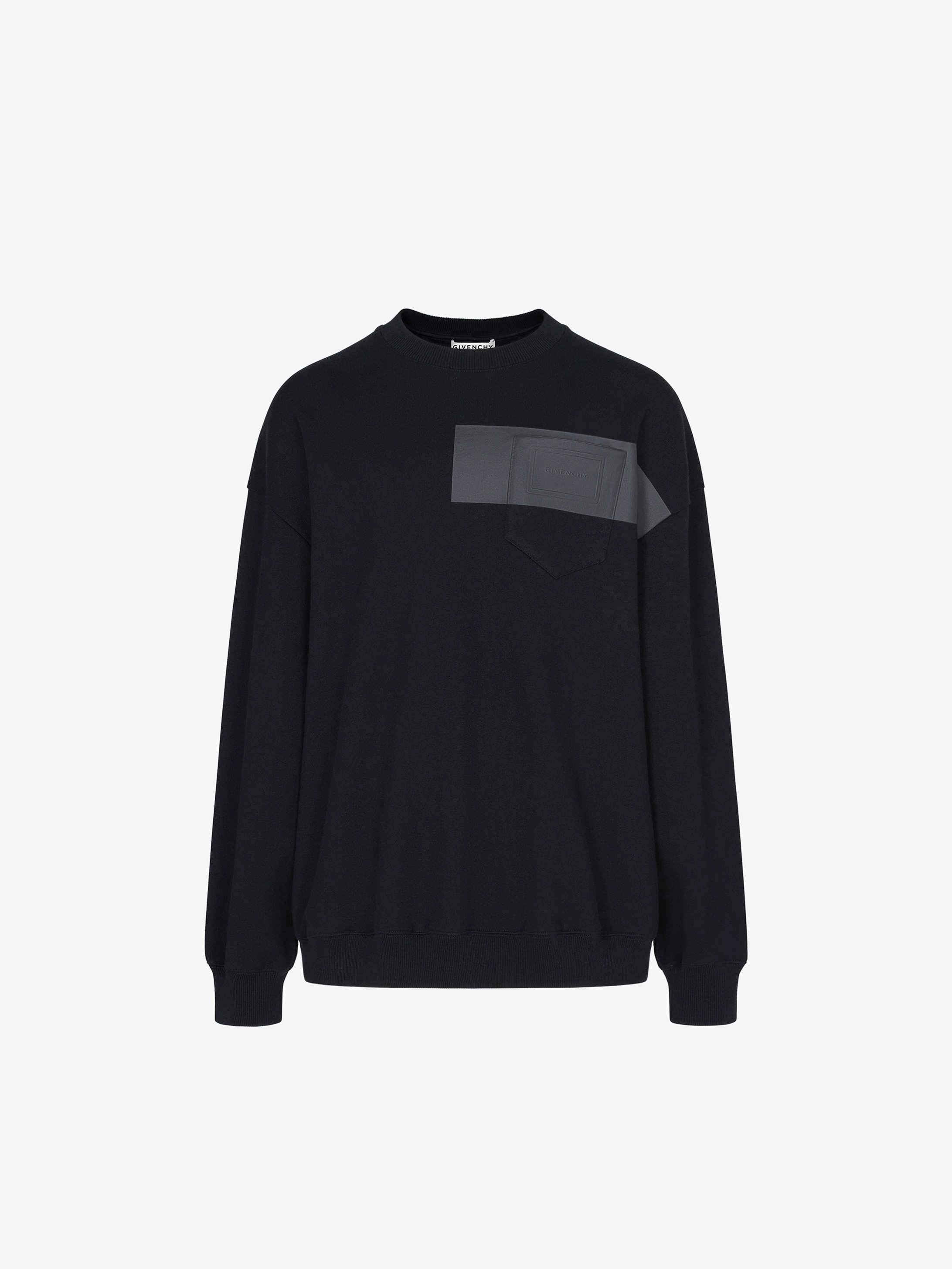 Sweatshirt oversized à patch GIVENCHY