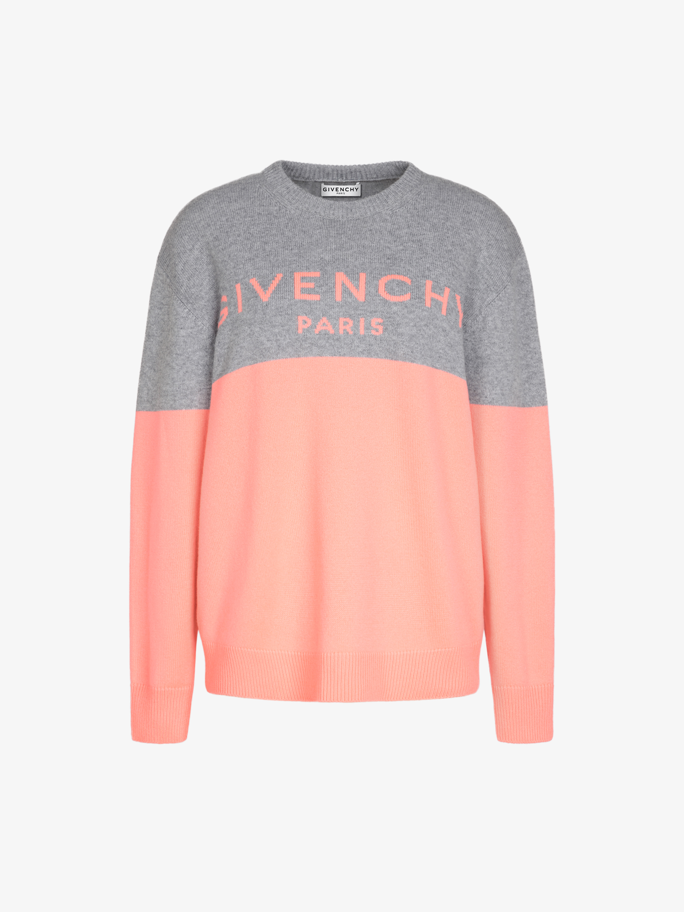 Pull GIVENCHY en cachemire bicolore