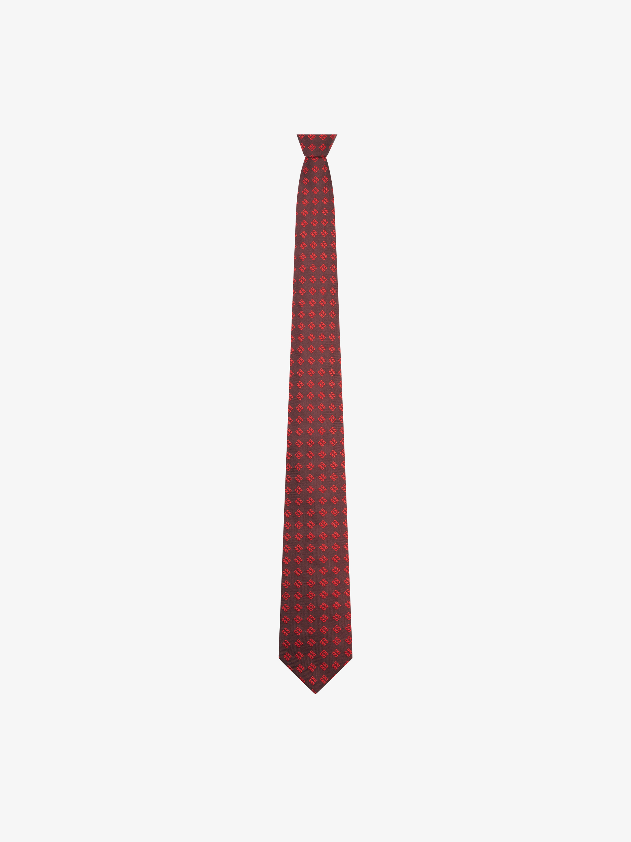 Givenchy Jacquard 4G aligned tie