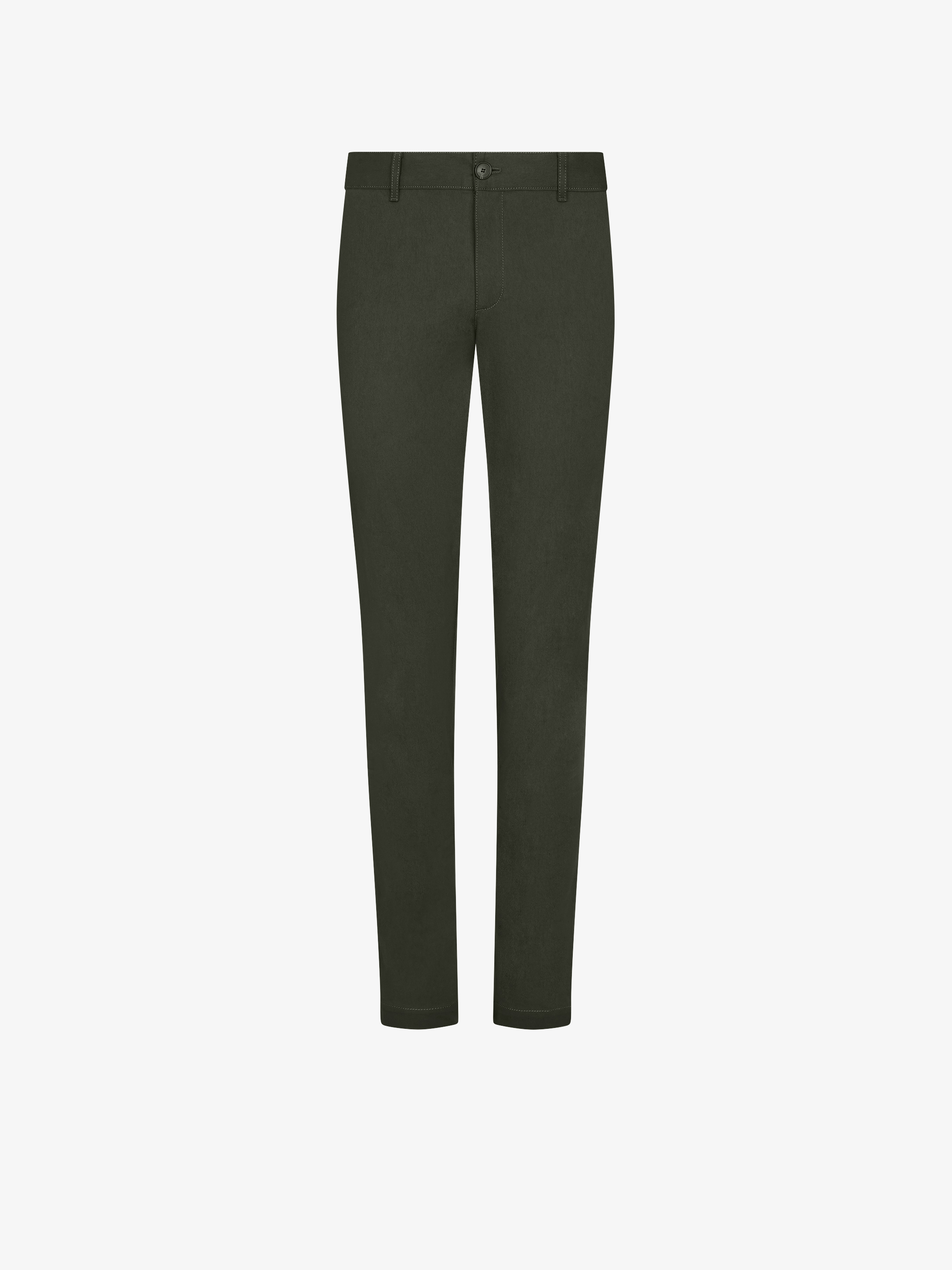 Regular fit trousers with GIVENCHY patch